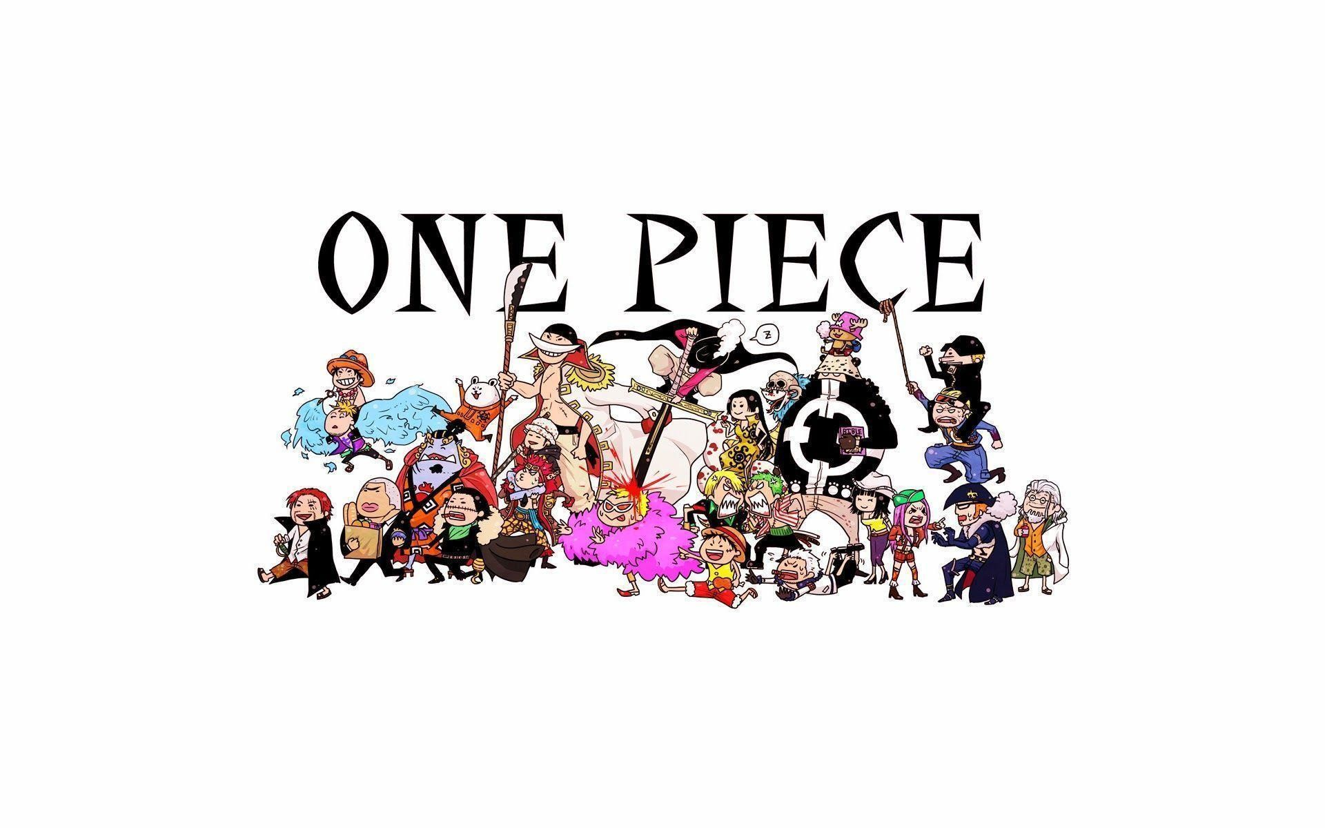 One Piece Chibi Wallpaper Wallpapertag
