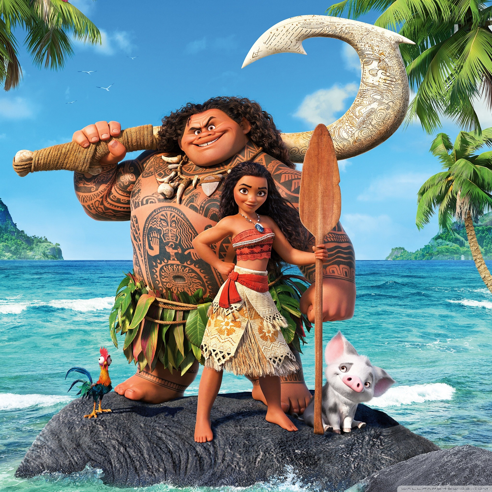 It is an image of Ambitious Picture of Moana