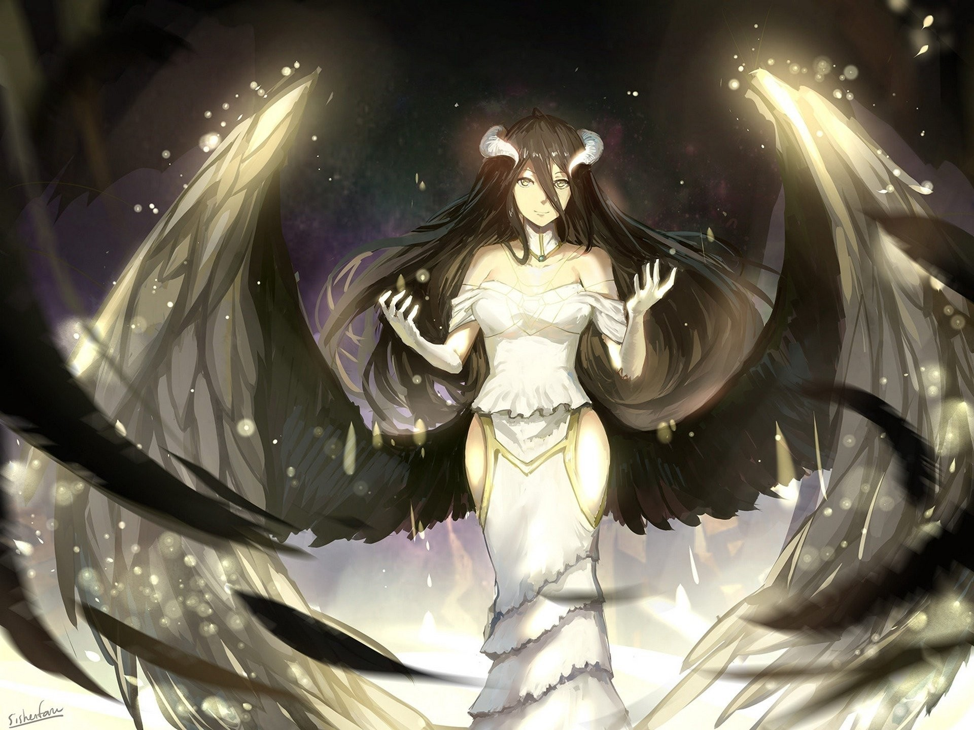 Overlord anime wallpaper download free stunning - Anime hd wallpaper 1920x1080 ...