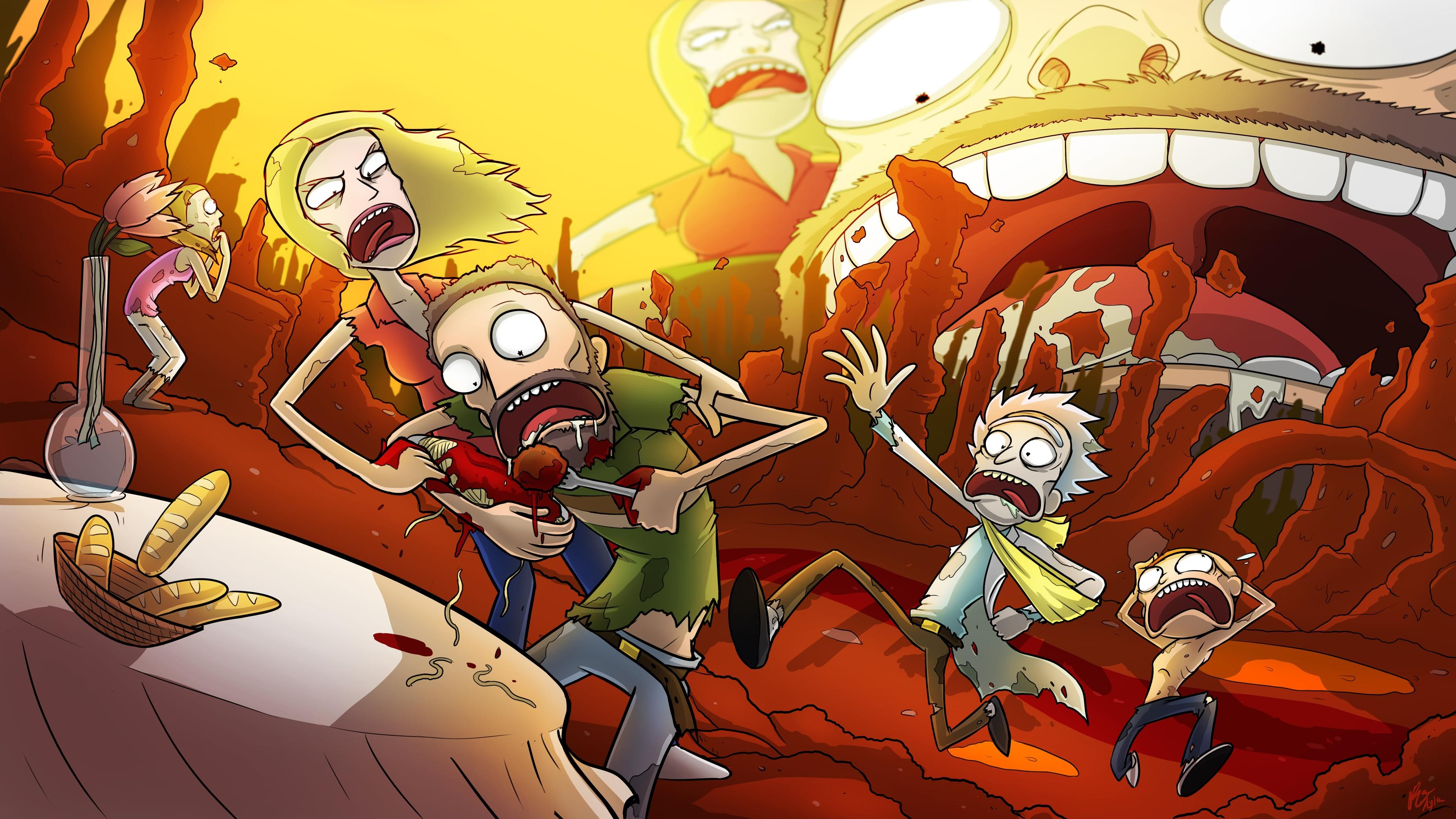 33 rick and morty wallpapers download free cool high - Evil morty wallpaper 4k ...