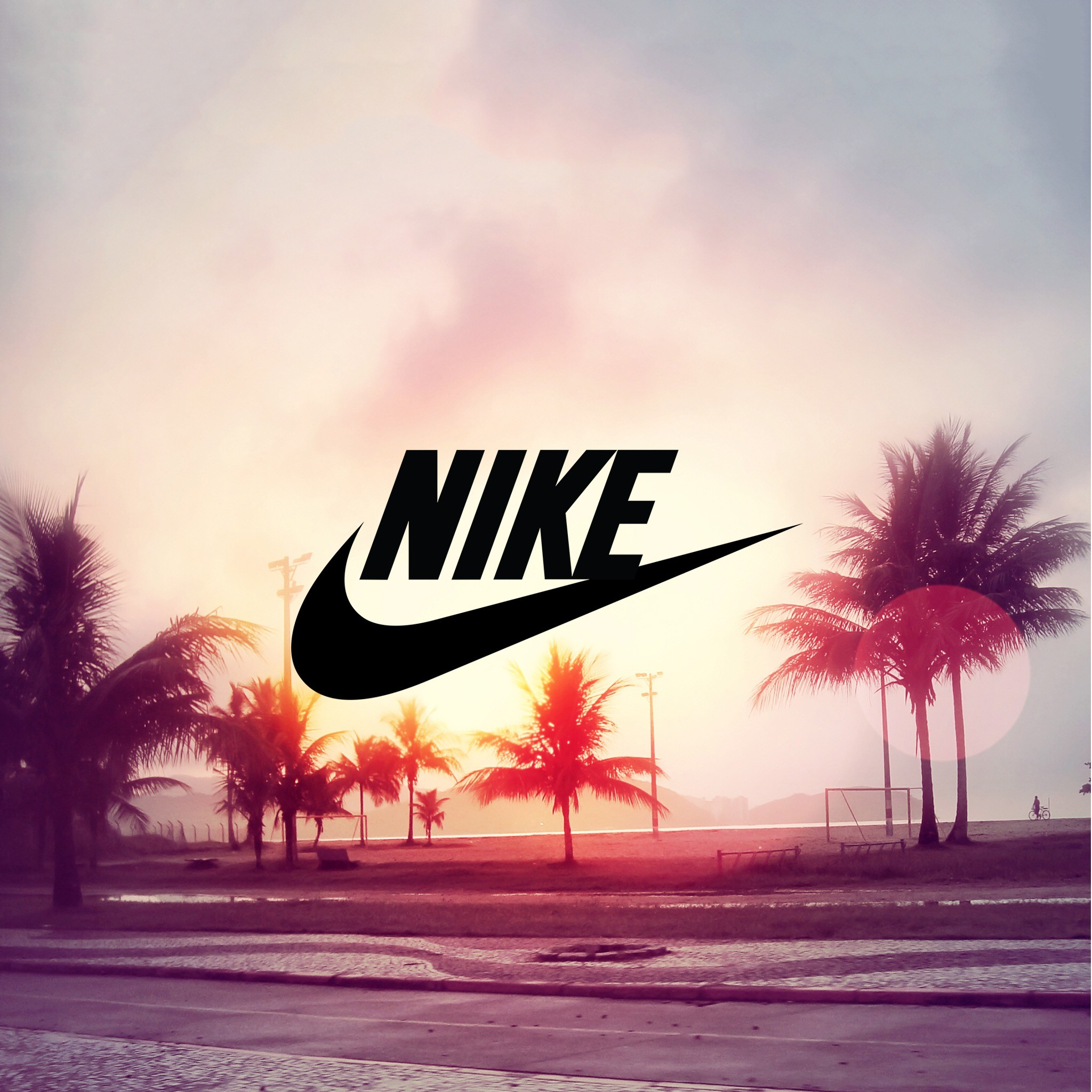 Wallpapers For Desktop: Pink Nike Wallpaper ·①