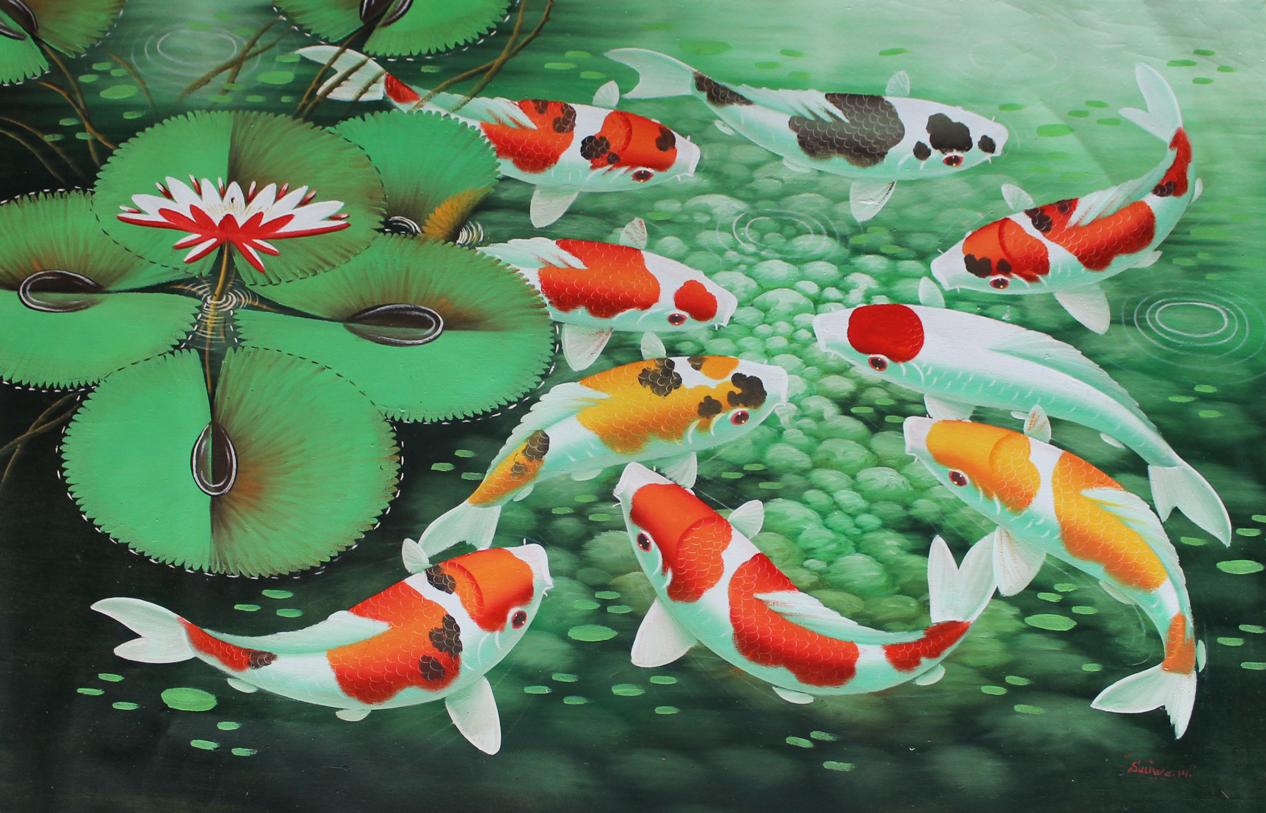 Koi fish wallpapers for The best koi fish