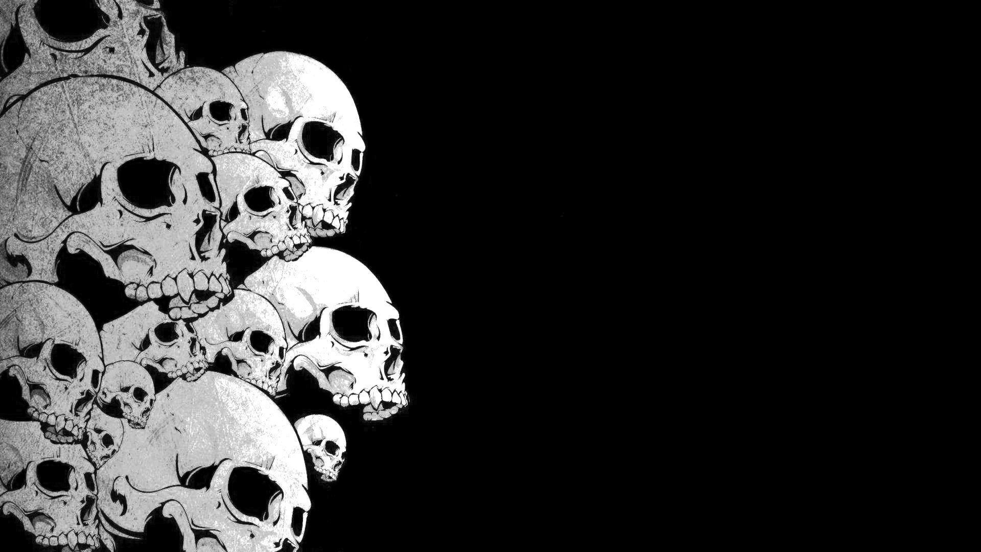 Skulls Wallpaper HD ·â' WallpaperTag
