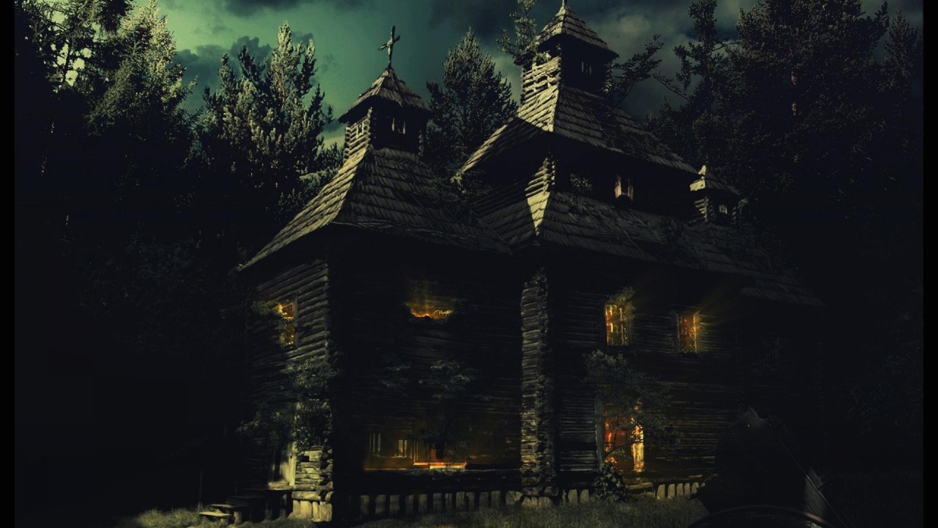 Haunted House Wallpaper Desktop 1