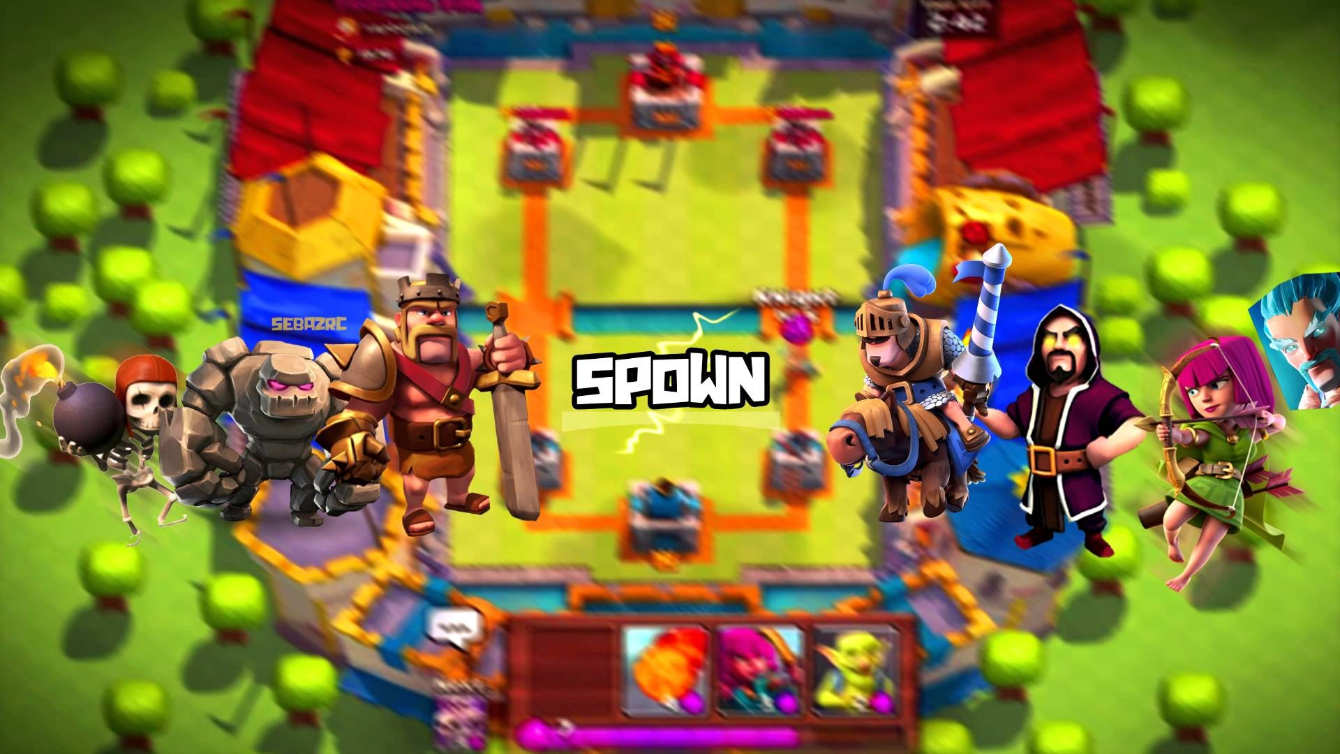 Clash royale background download free stunning full hd wallpapers for desktop mobile laptop - Clash royale 2560x1440 ...