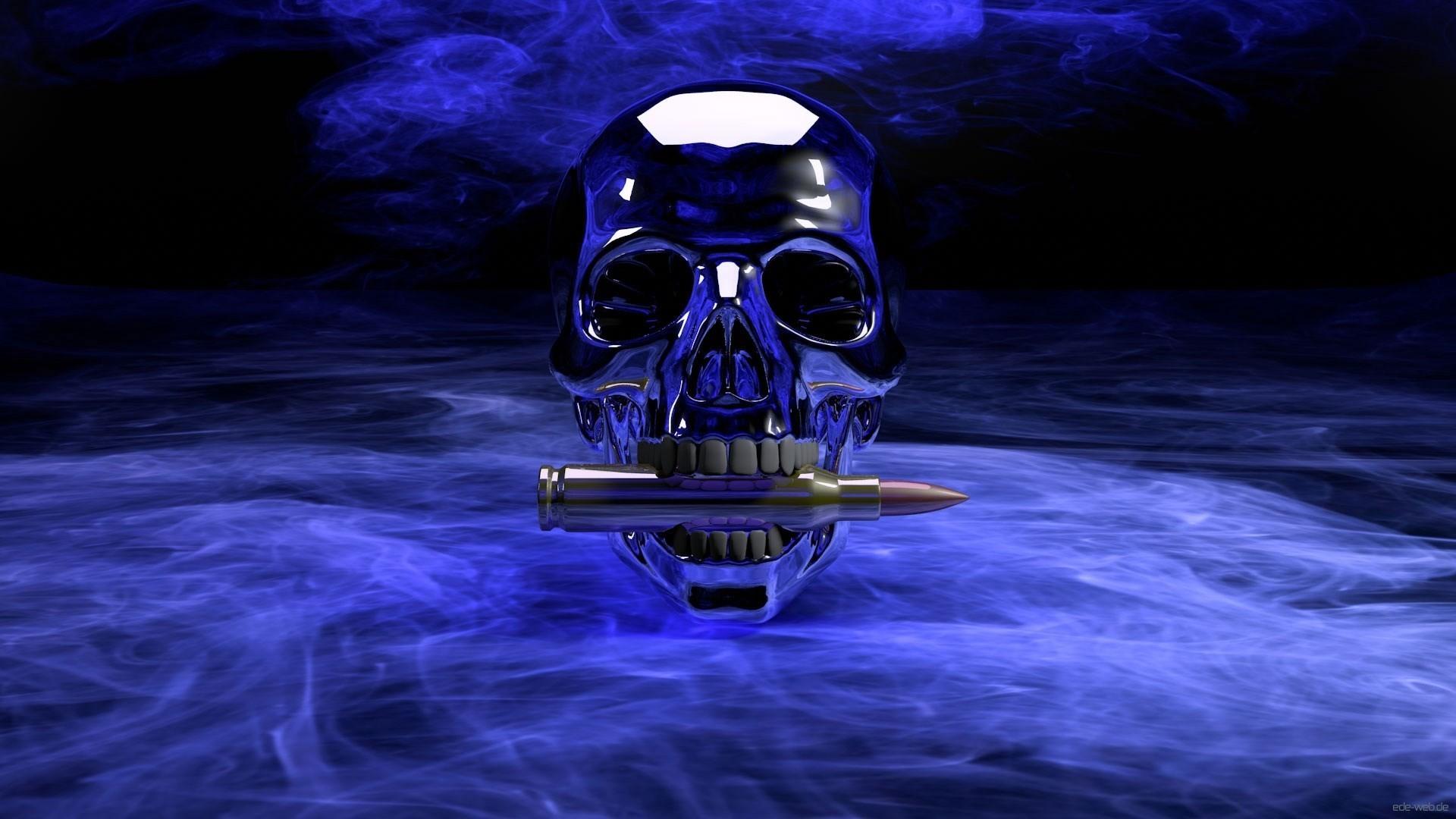 Skull 3d Wallpaper: Skull Wallpapers For Desktop ·①