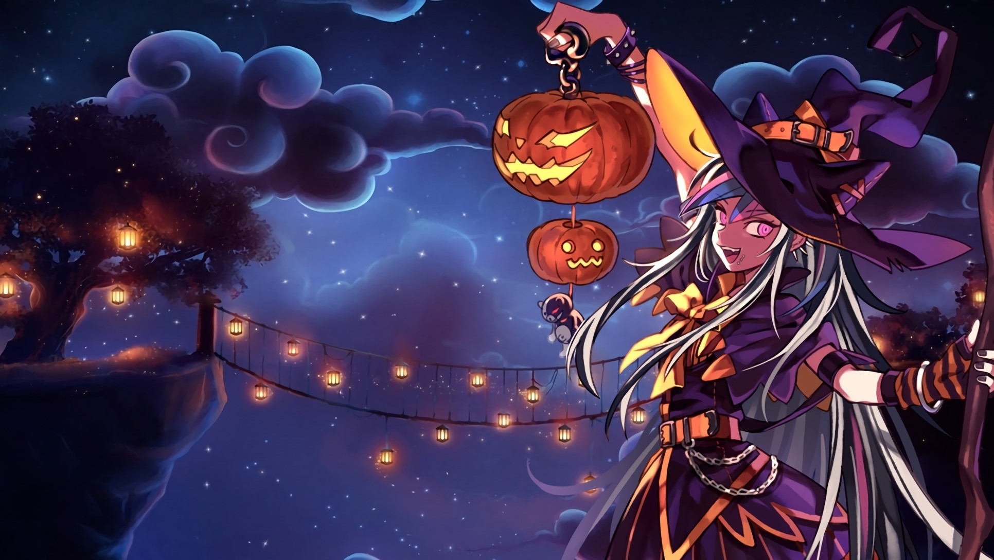 Anime Halloween Wallpaper 1