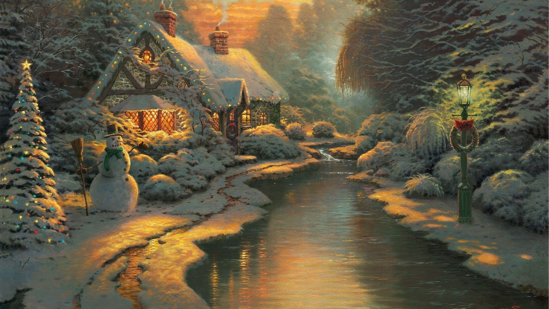 1920x1080 Thomas Kinkade Disney Wallpapers - Wallpaper Cave ... Download · Wide .