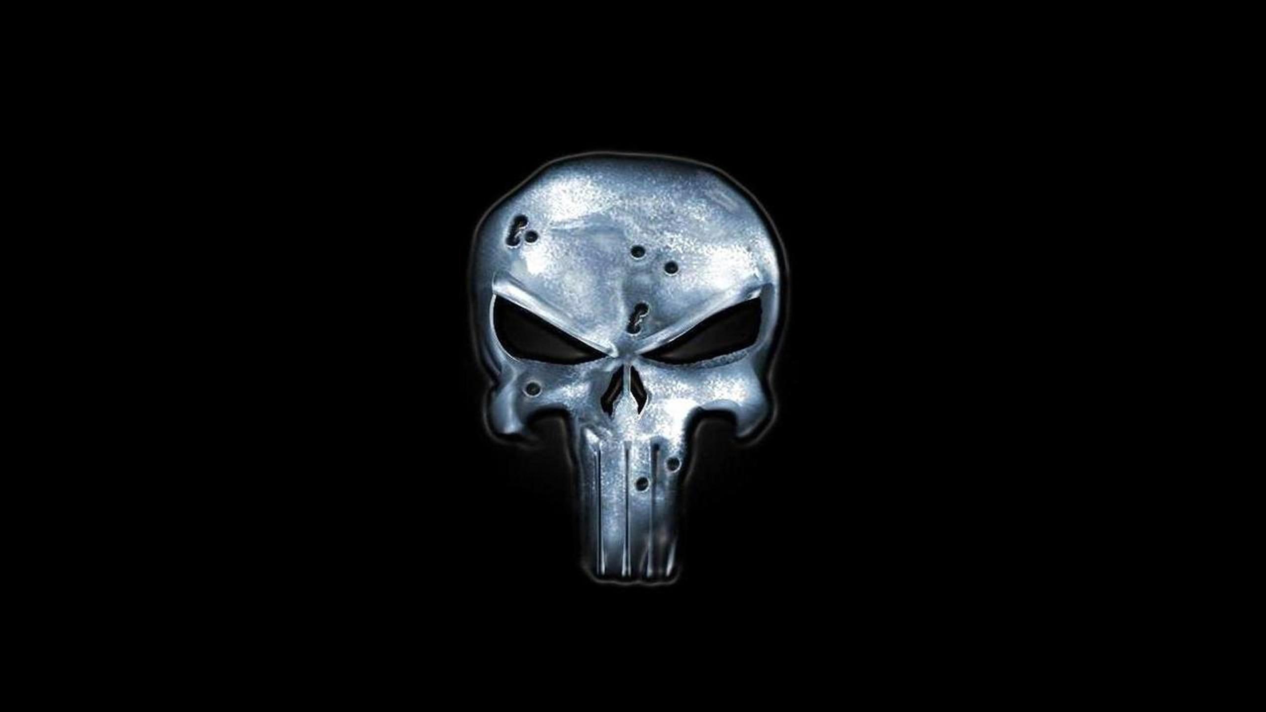 The Punisher Skull Wallpaper