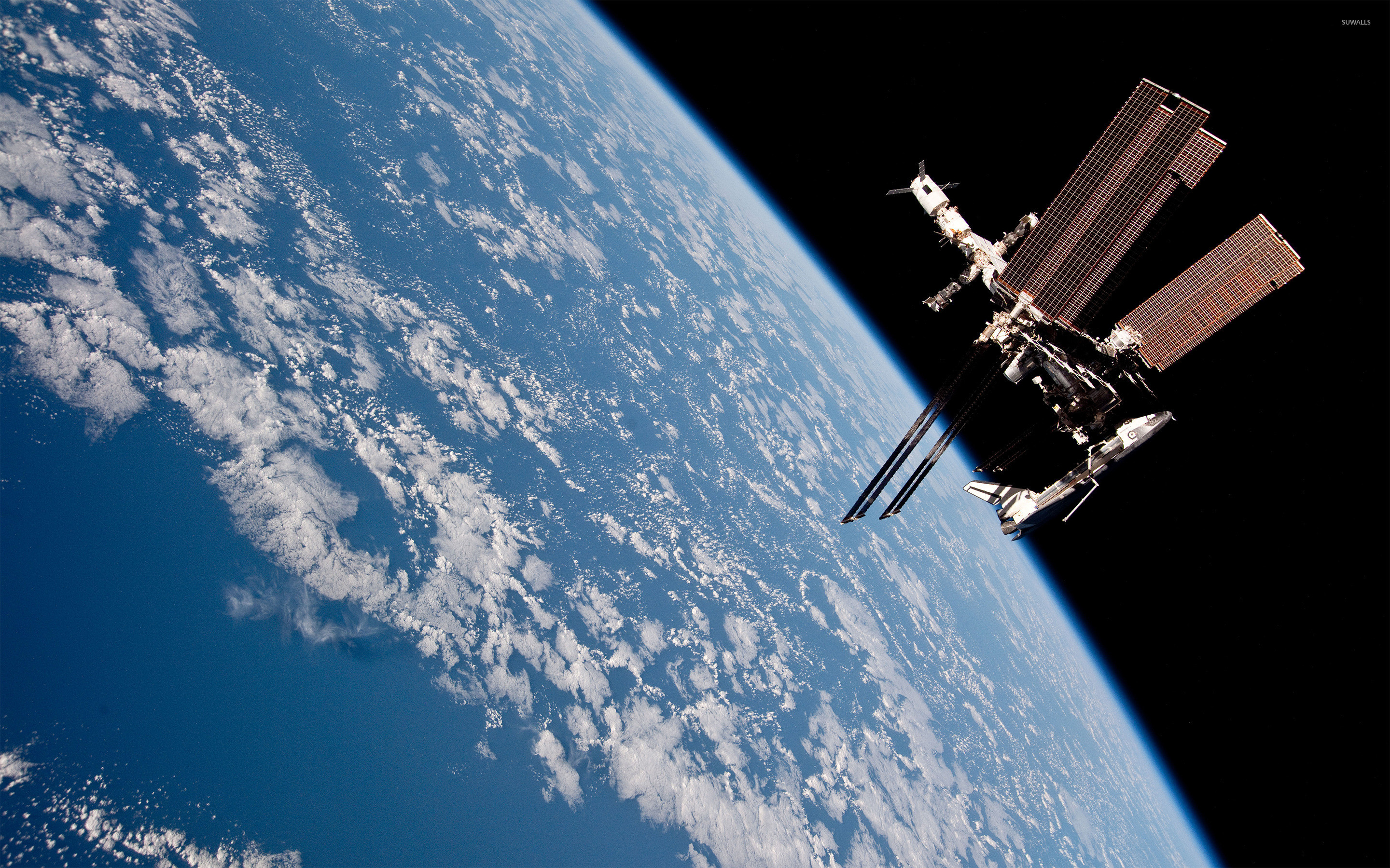 International Space Station Wallpaper ·①