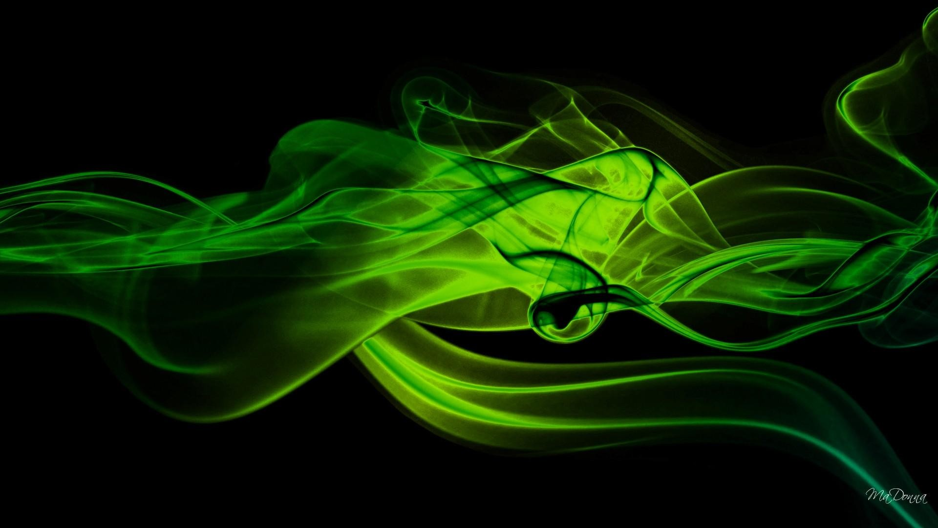Neon Green Backgrounds ·①