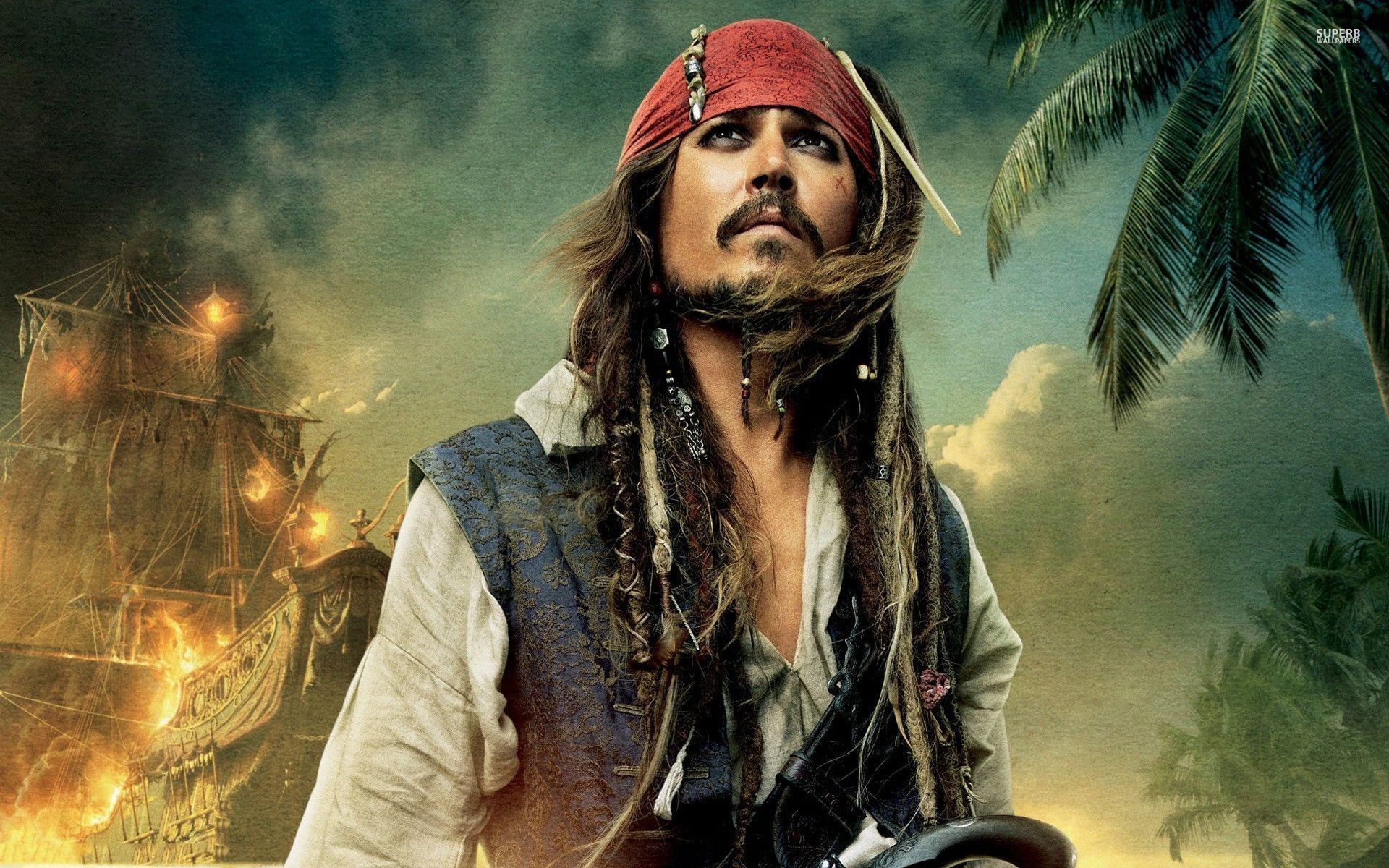 Pirates Of The Caribean Wallpaper: Captain Jack Sparrow Wallpaper ·① WallpaperTag