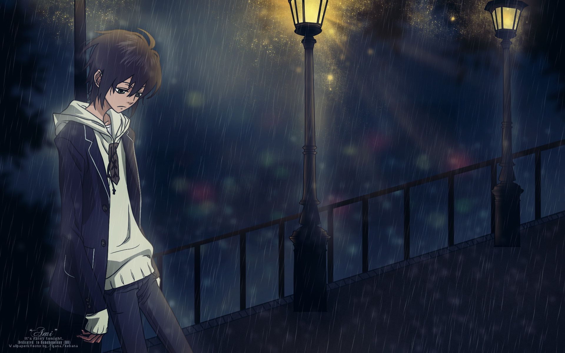 Sad anime boy wallpaper 1920x1200 tags anime kamatani yuuki nabari no ou wallpaper king of nabari voltagebd Gallery