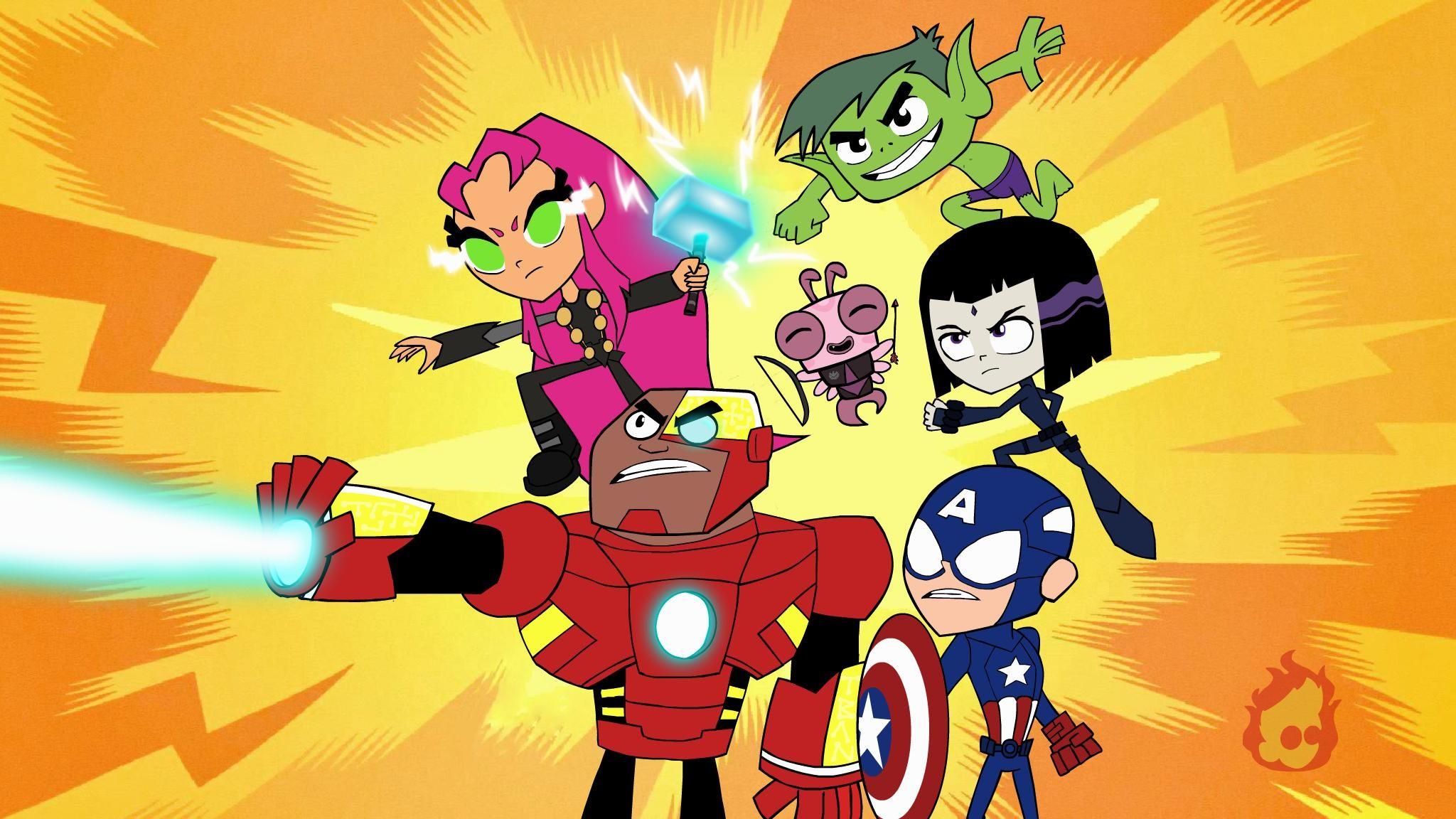 Teen Titans Wallpapers ① Wallpapertag