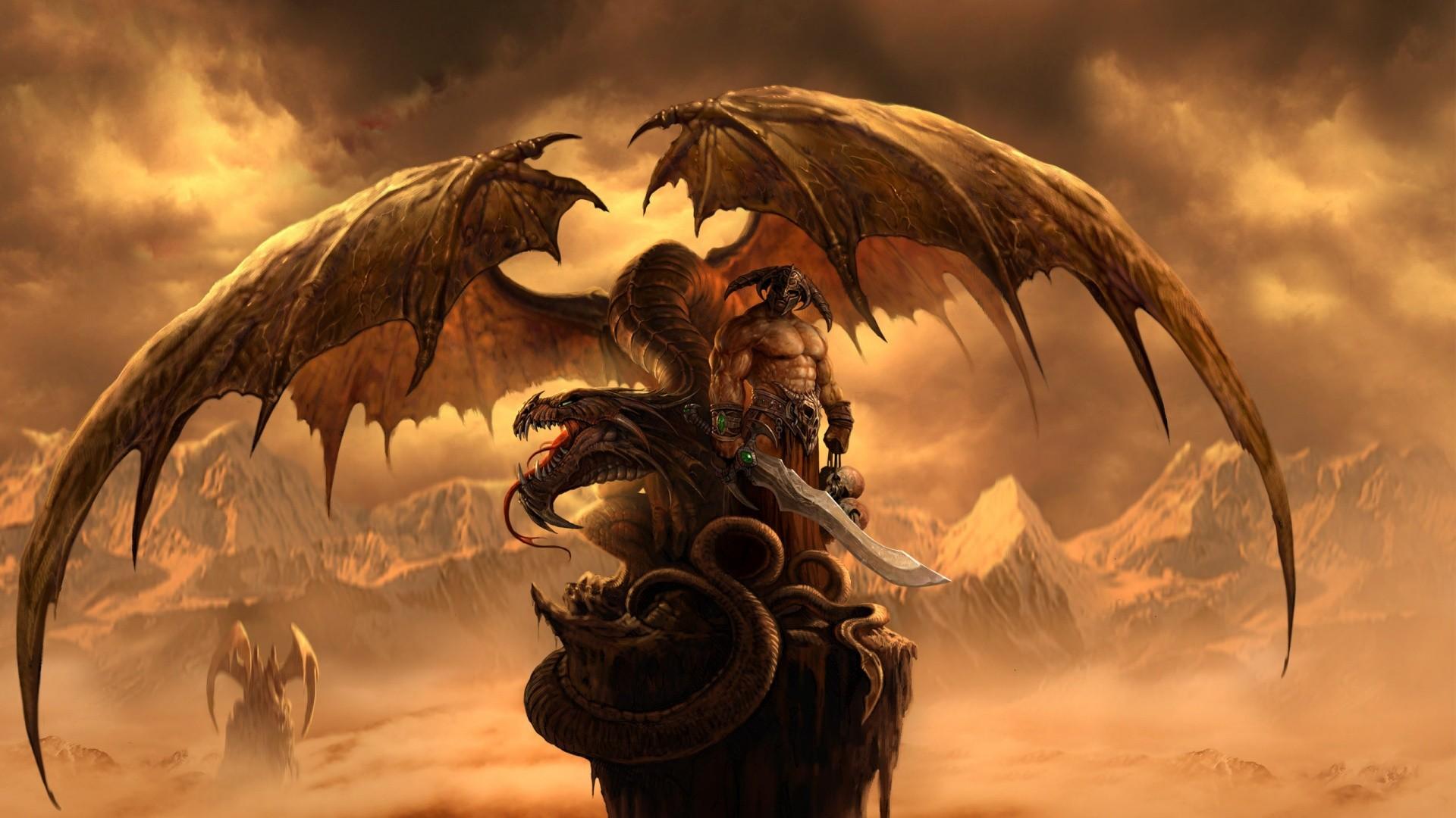 Dark Dragon Wallpaper Widescreen