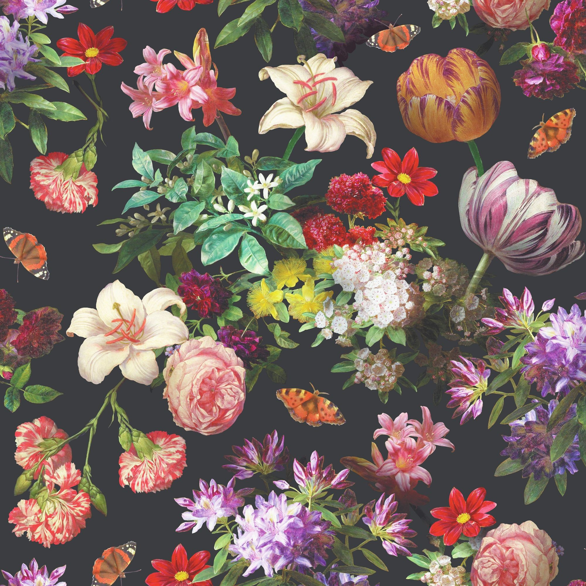 Vintage Floral Wallpaper ·① Download Free Cool High