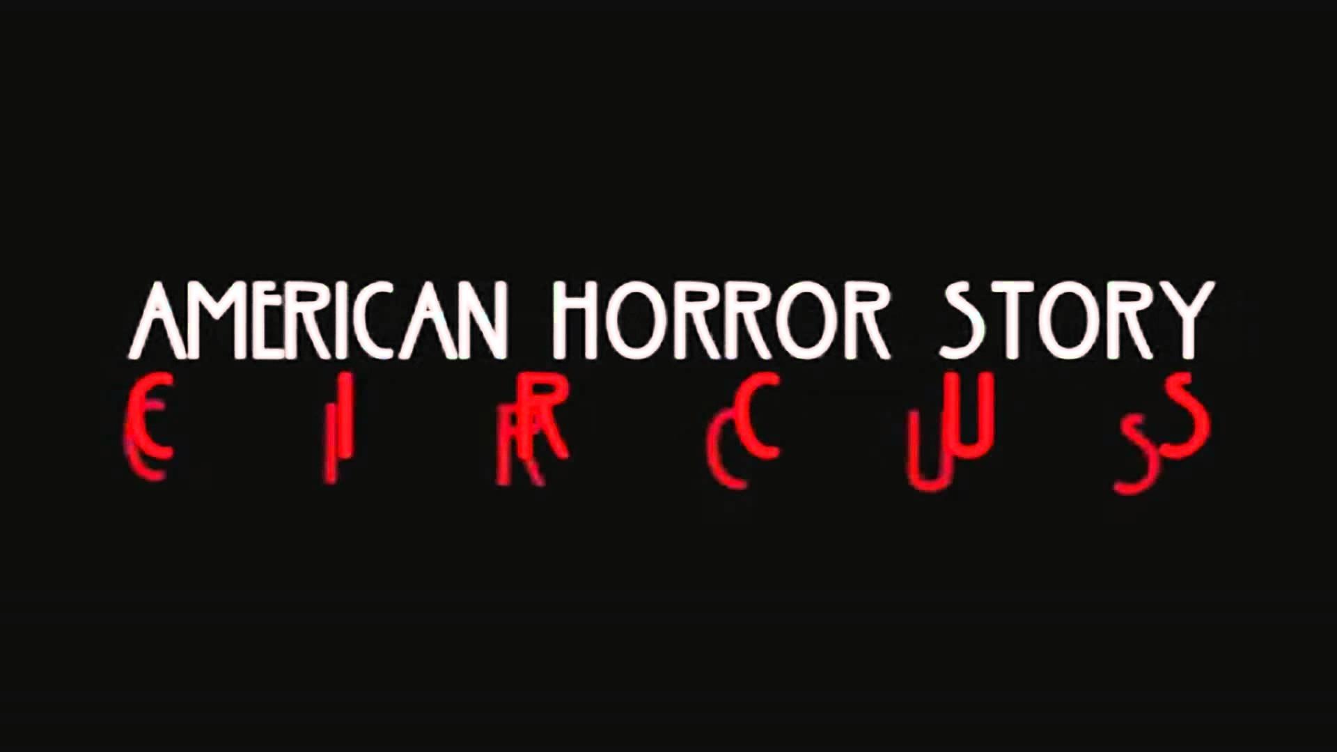 Картинка с надписью американская история ужасов, открытку мая