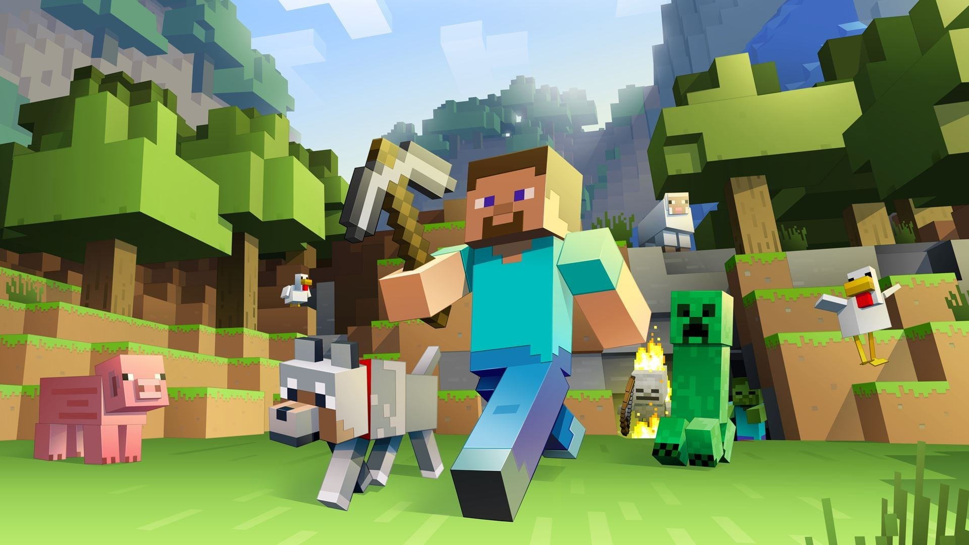 Best Wallpaper Minecraft Home Screen - 48874-download-minecraft-backgrounds-1920x1080-picture  You Should Have_1001865.jpg