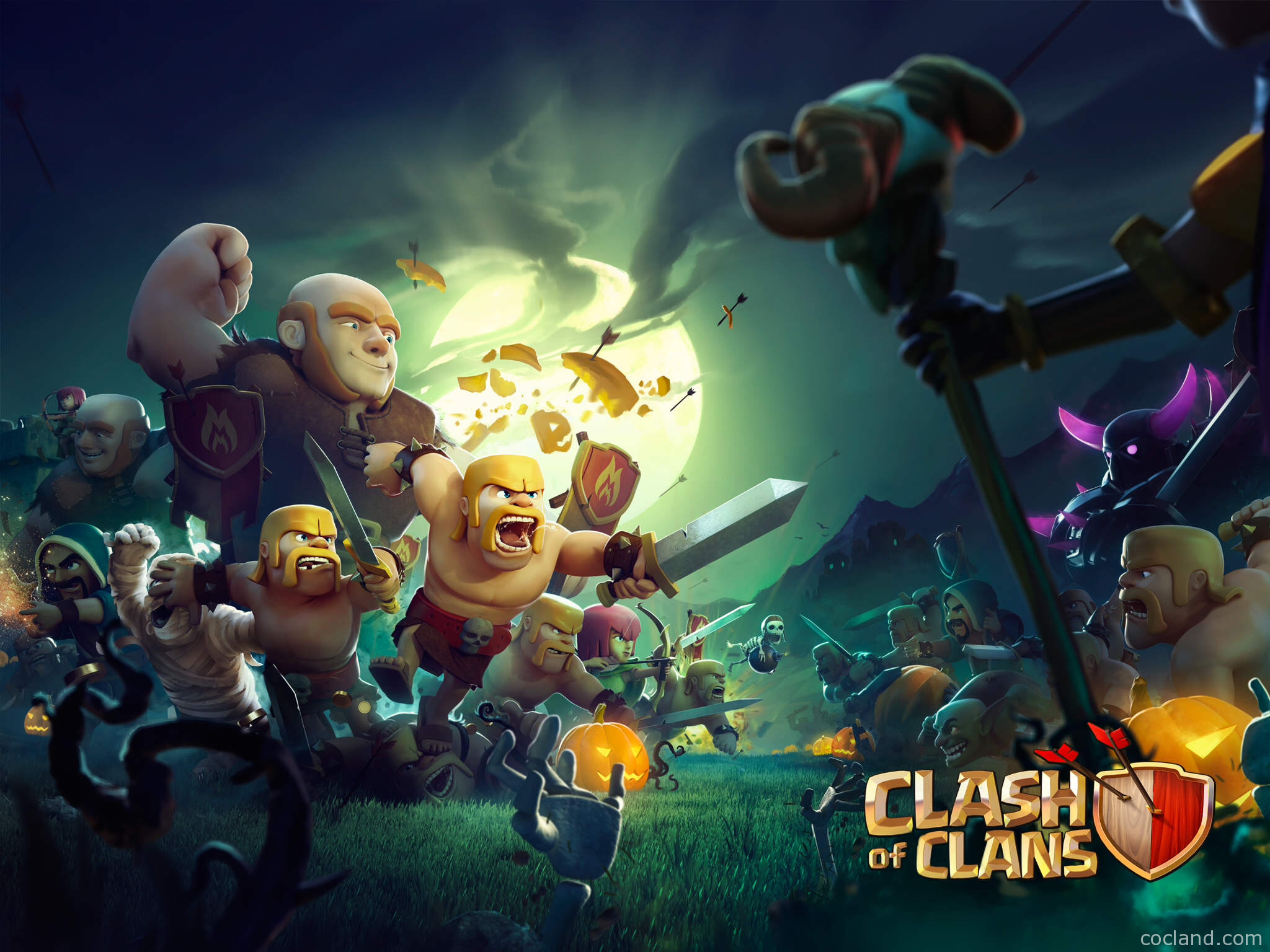 Clash Of Clans Wallpapers Wallpapertag
