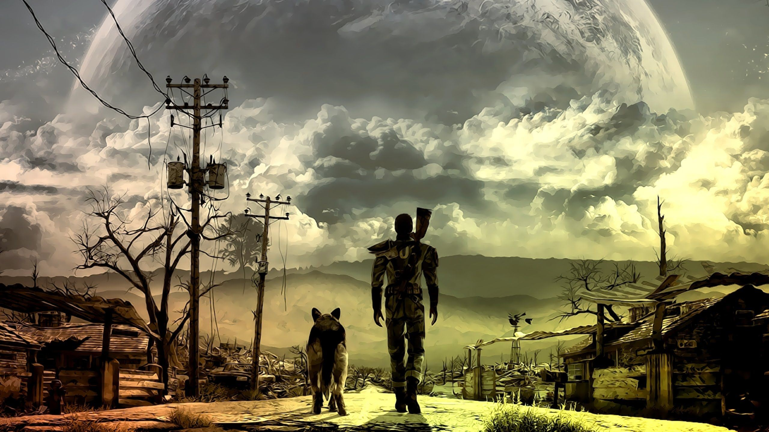 2560x1440 Fallout 4 Wallpapers HD Download On
