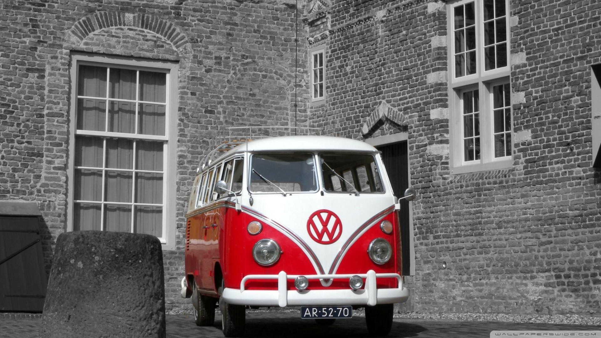 1920x1080 Volkswagen Combi Hippie Van Wallpaper 4202 Themes