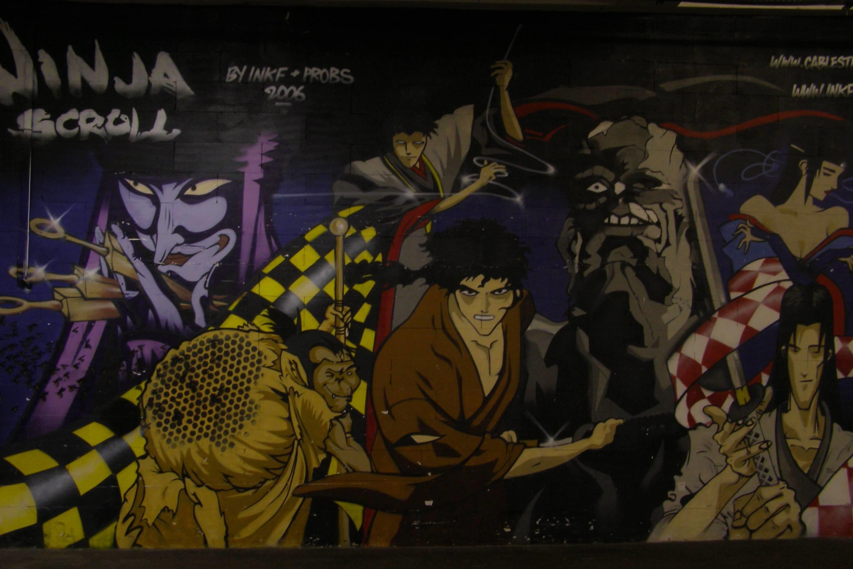 Ninja Scroll Wallpaper ·â'