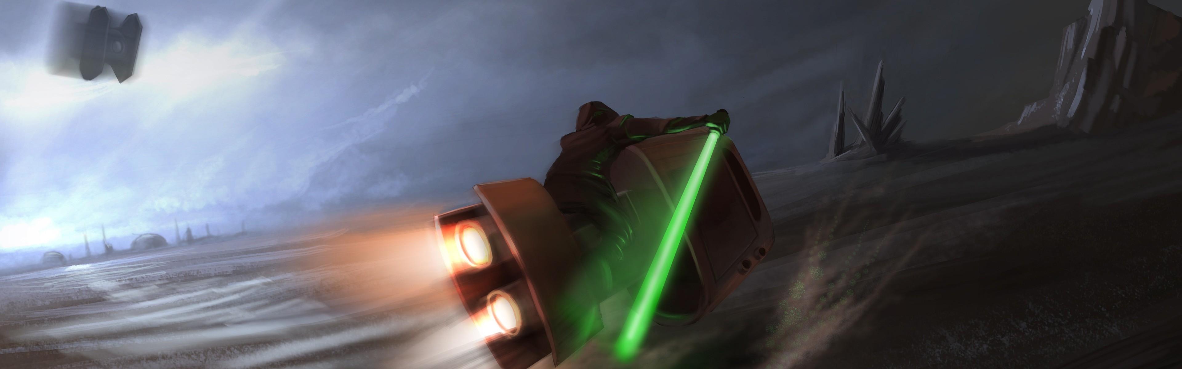 Star Wars Dual Monitor wallpaper ·① Download free HD