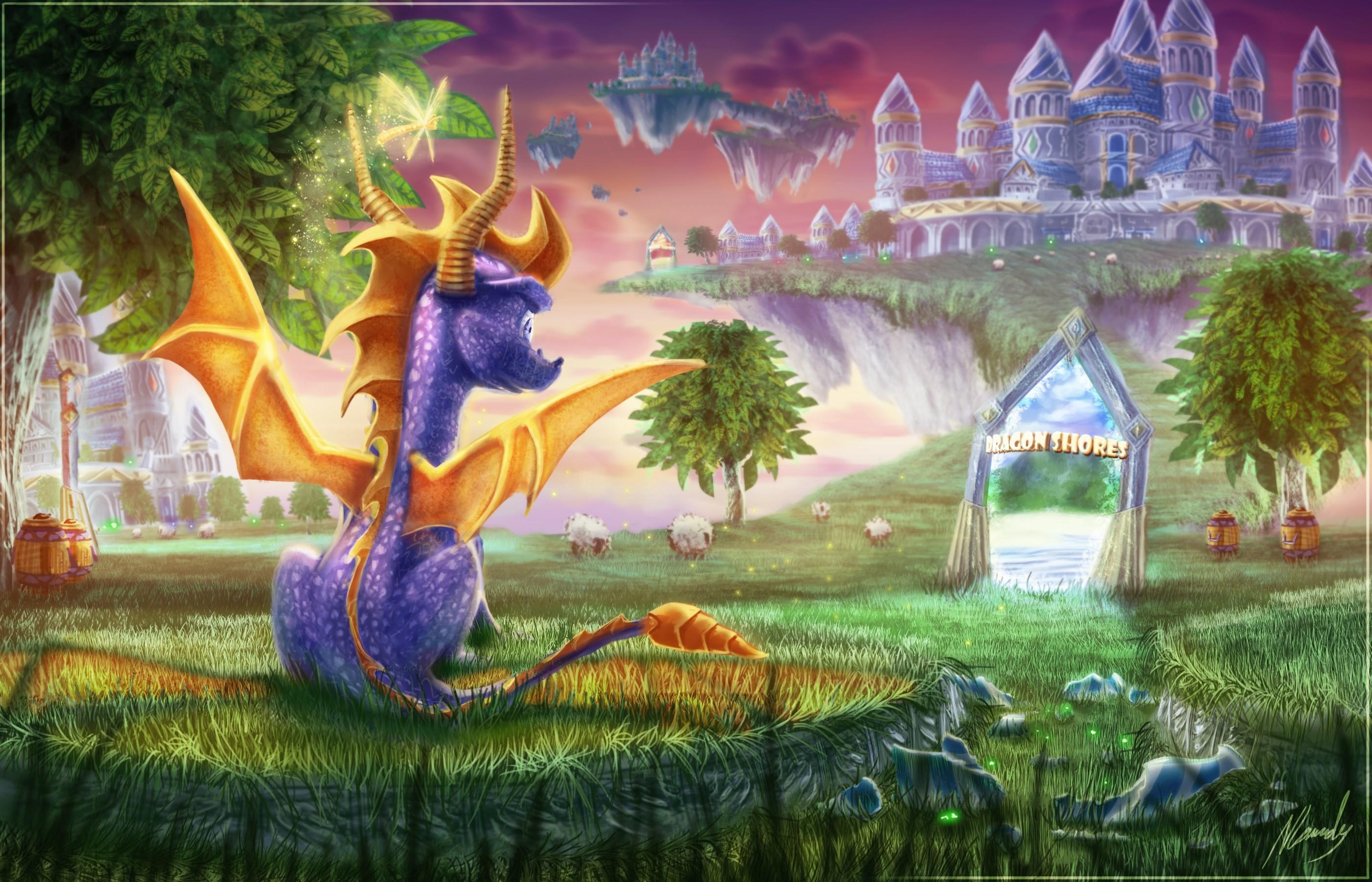 Spyro the dragon wallpaper - Spyro wallpaper ...