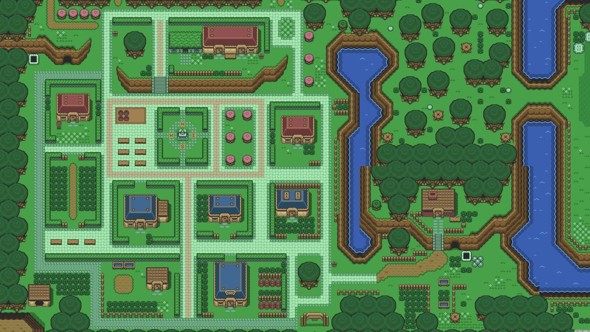 Link To The Past Wallpaper Wallpapertag