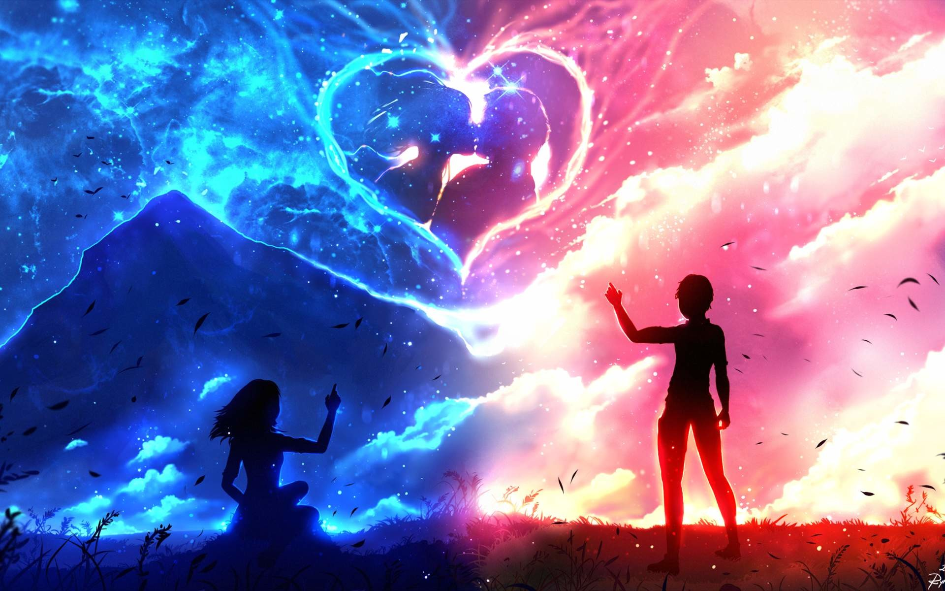 cute Love couple Hd Wallpaper Animated : couples Anime Wallpapers ??