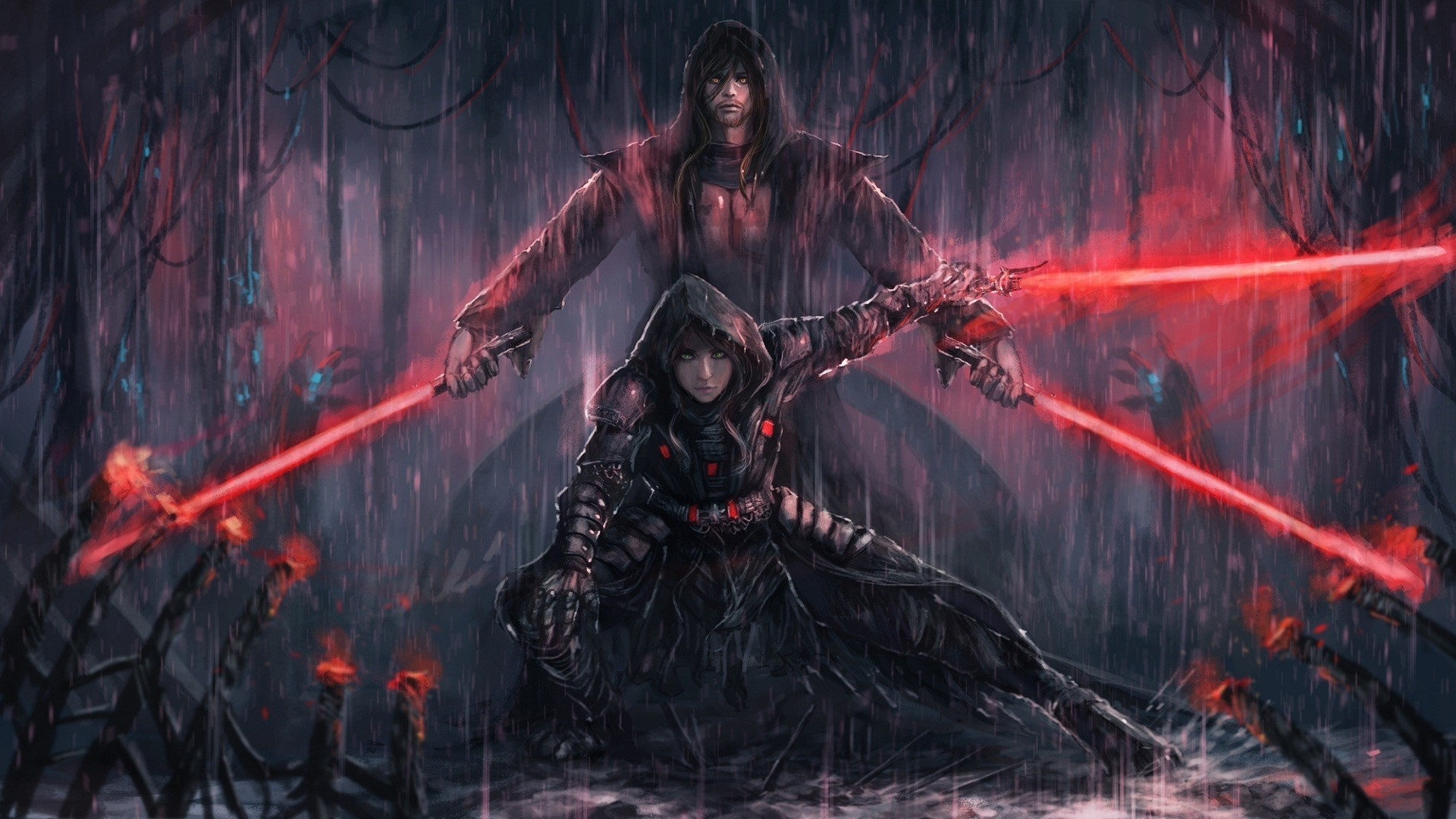 Sith Lord Wallpaper ·①