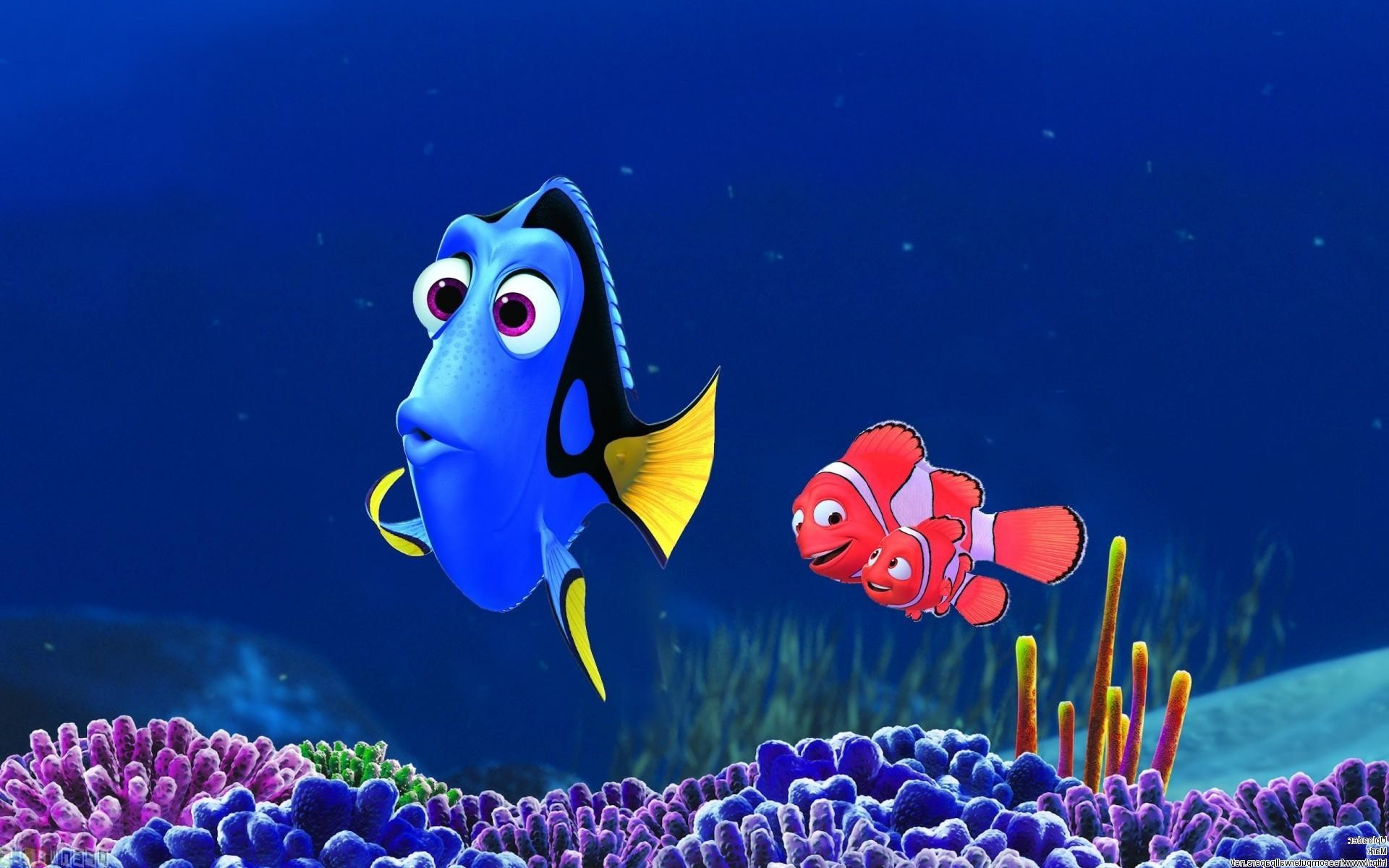 Finding Nemo D Animasi Hd Wallpaper: Finding Dory Wallpapers ·①