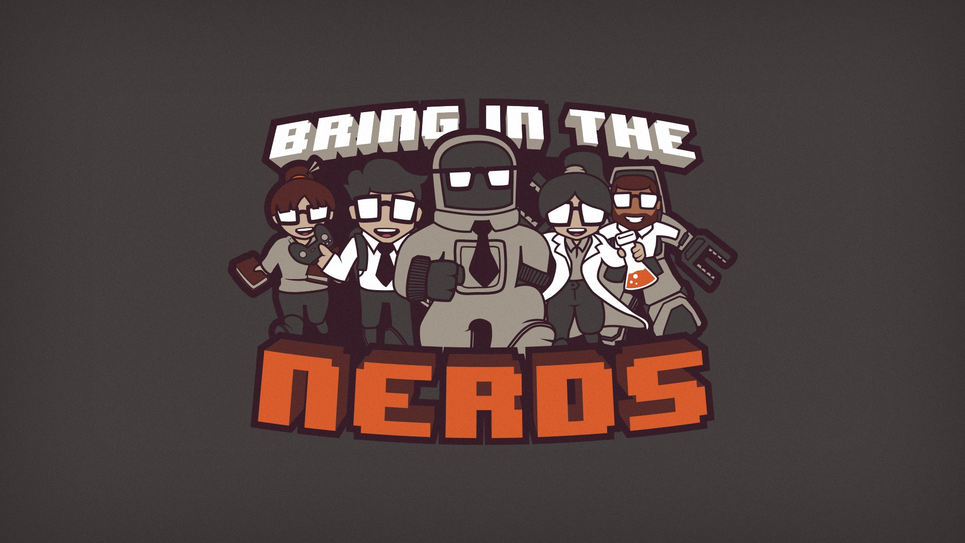 Nerd wallpaper download free cool high resolution backgrounds 1920x1080 bring in the nerds wallpaper edition by blo0p customization wallpaper voltagebd Choice Image