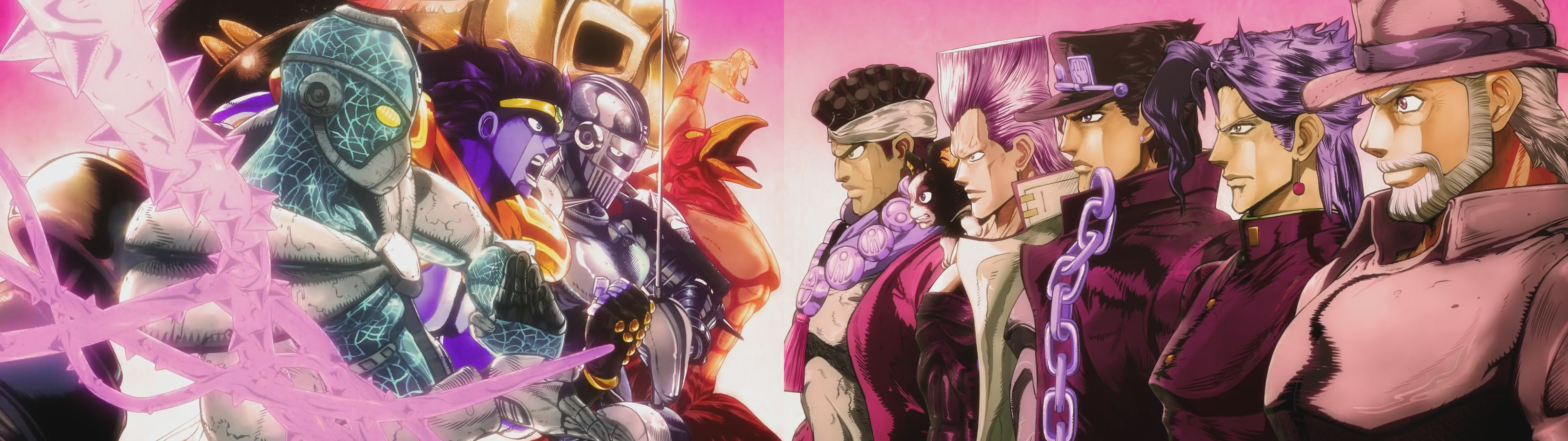 Jojo S Bizarre Adventure Battle Tendency Wallpaper Download