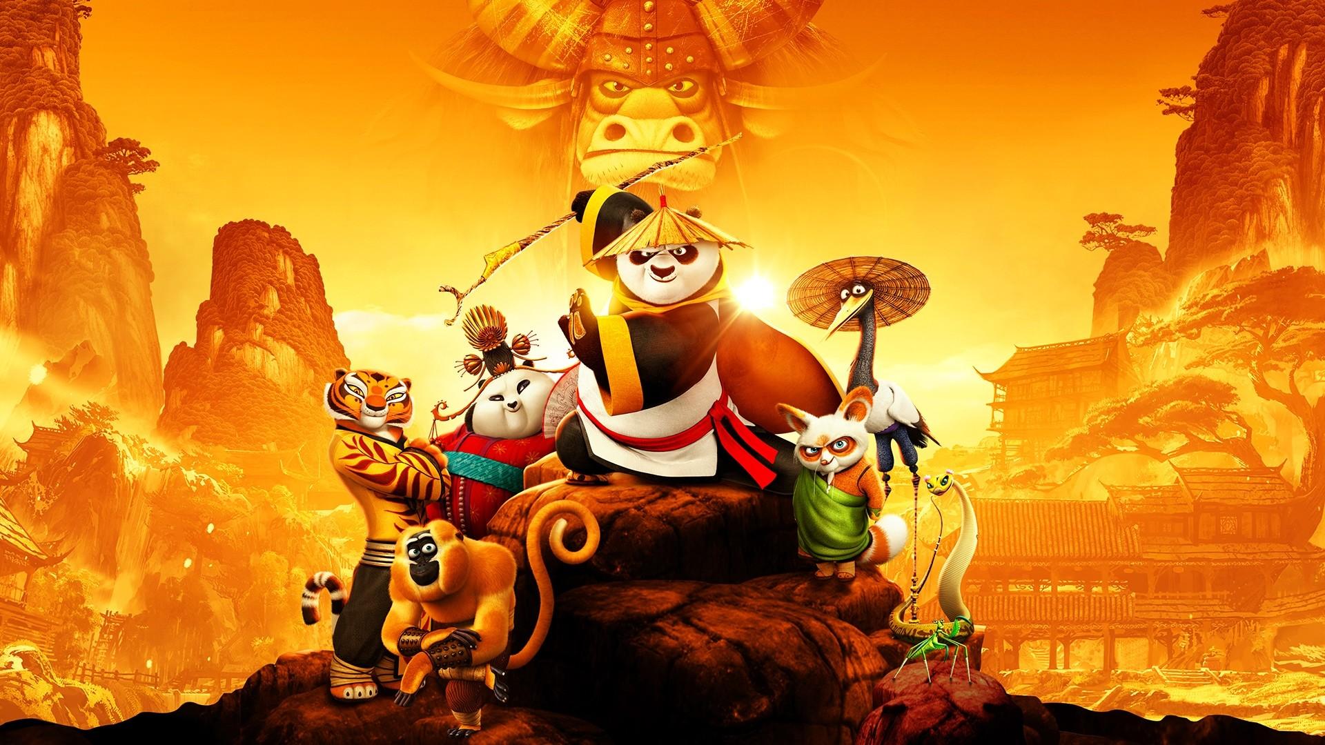 Kung Fu Panda 3 Wallpapers ·① WallpaperTag