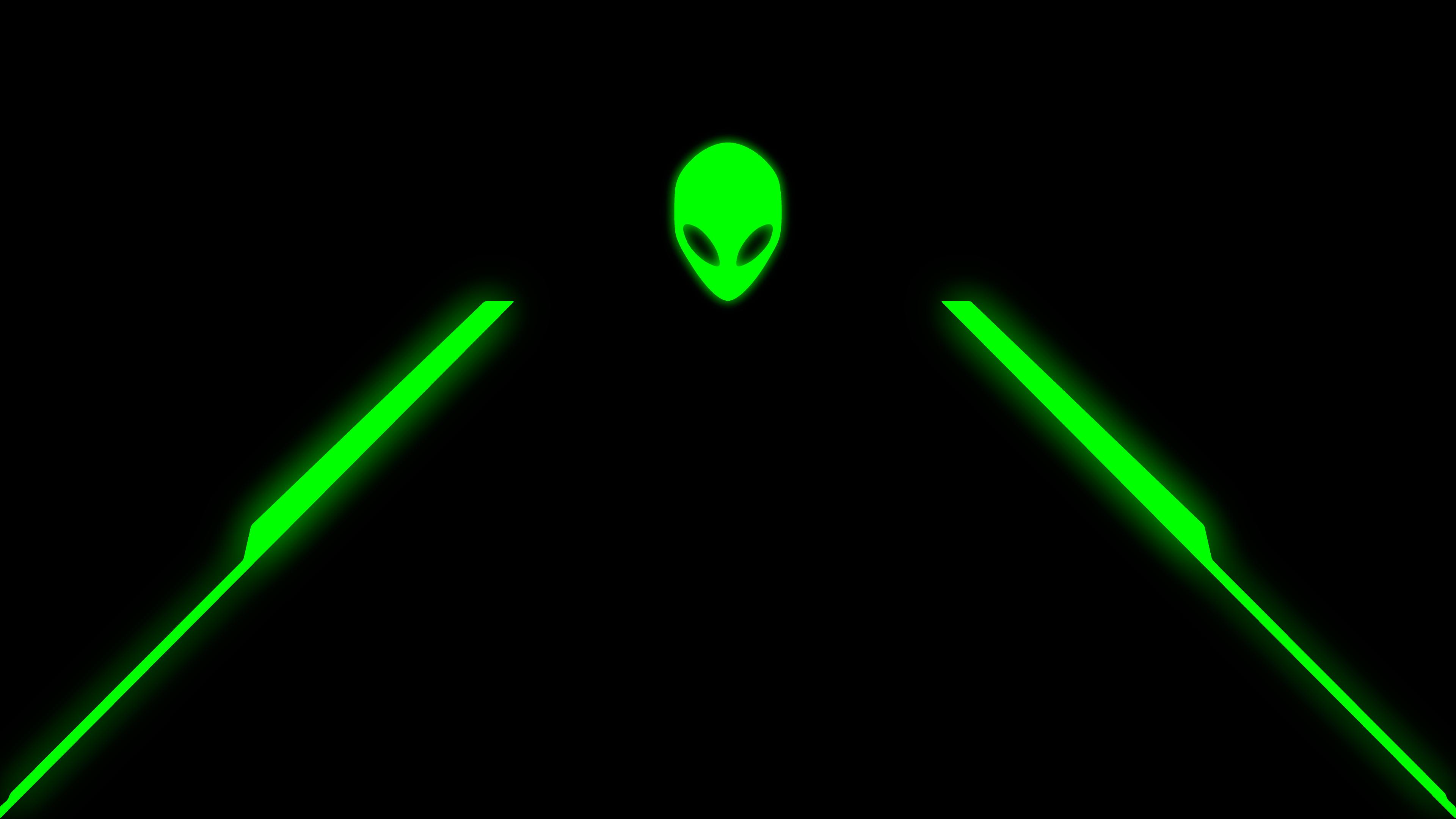 green alienware wallpaper 183��