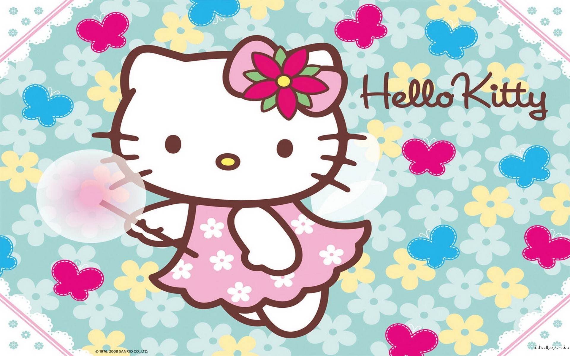 Hello kitty screensavers and wallpapers wallpapertag - Wallpaper hello kitty full hd ...
