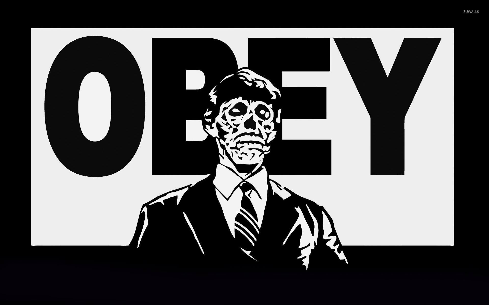 1920x1200 zombie obey wallpaper