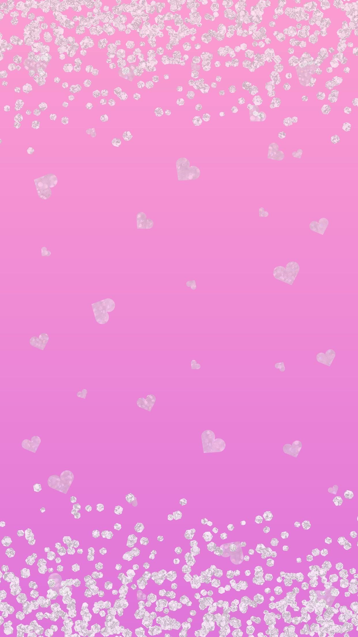 Cute Heart Background ①