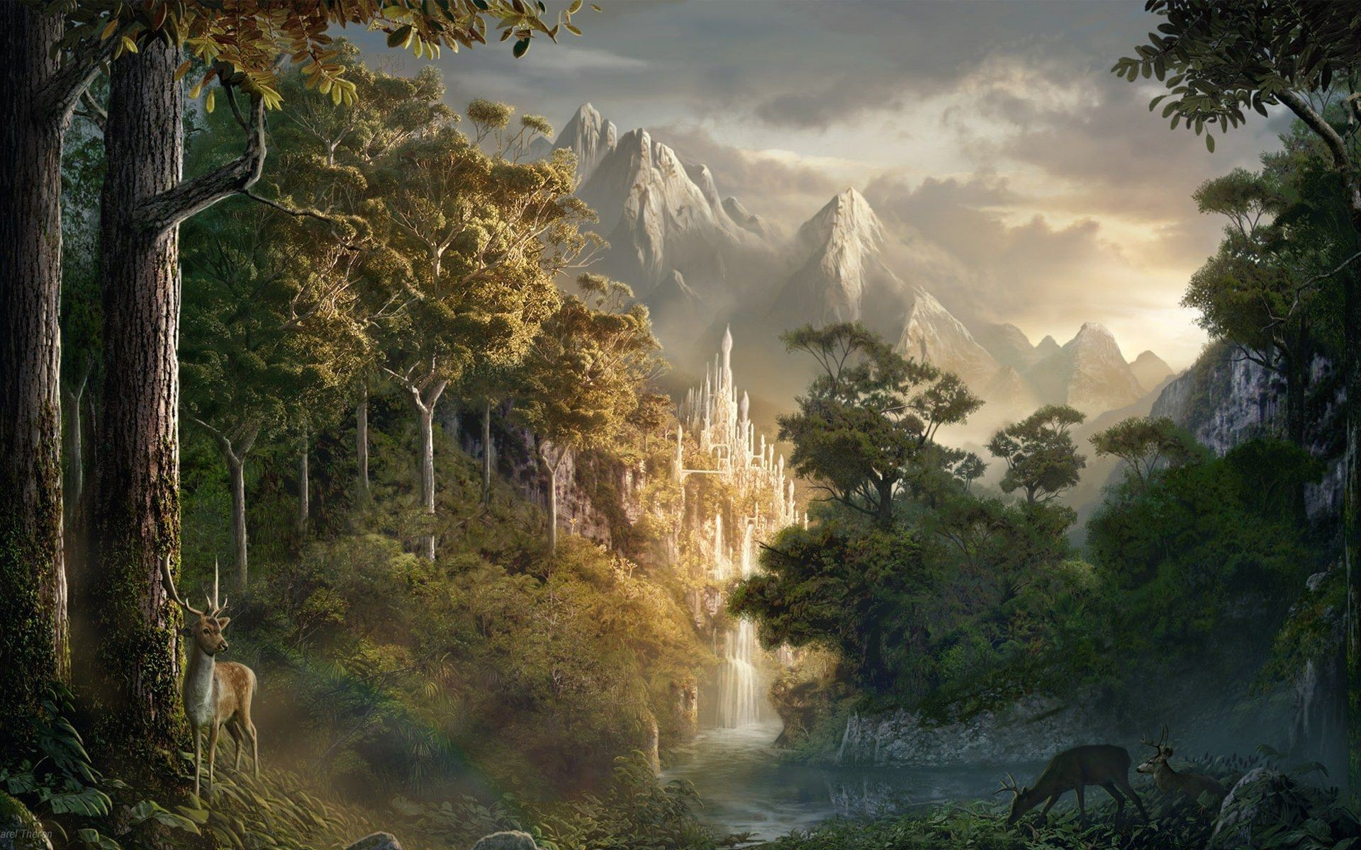 Hd Wallpapers That Will Take You To World Of Fantasy: Fantasy Desktop Wallpaper ·① Download Free Cool Full HD