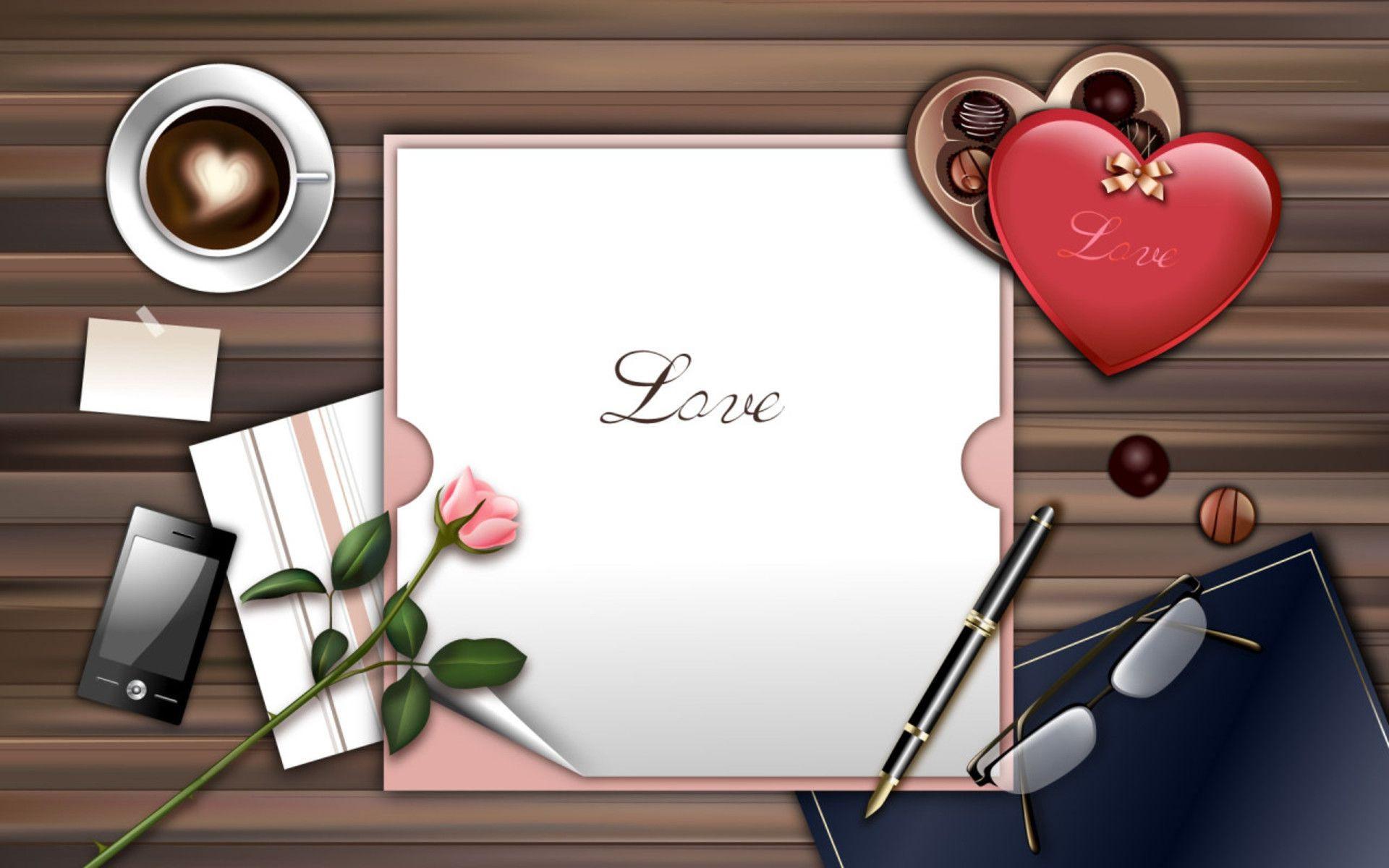 I Love K Letter Wallpaper: Love Letter Wallpaper ·①