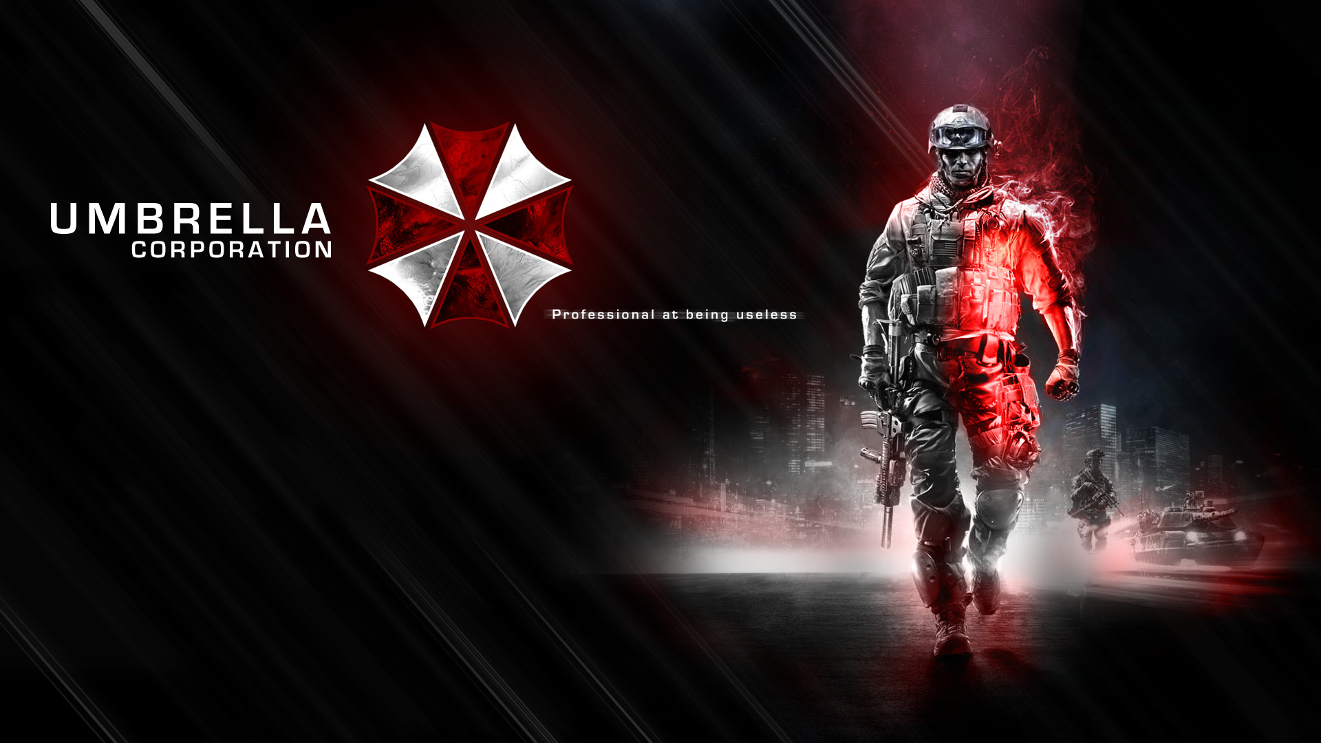 Umbrella corporation background 1920x1080 umbrella corporation wallpapers umbrella corporation backgrounds voltagebd Images
