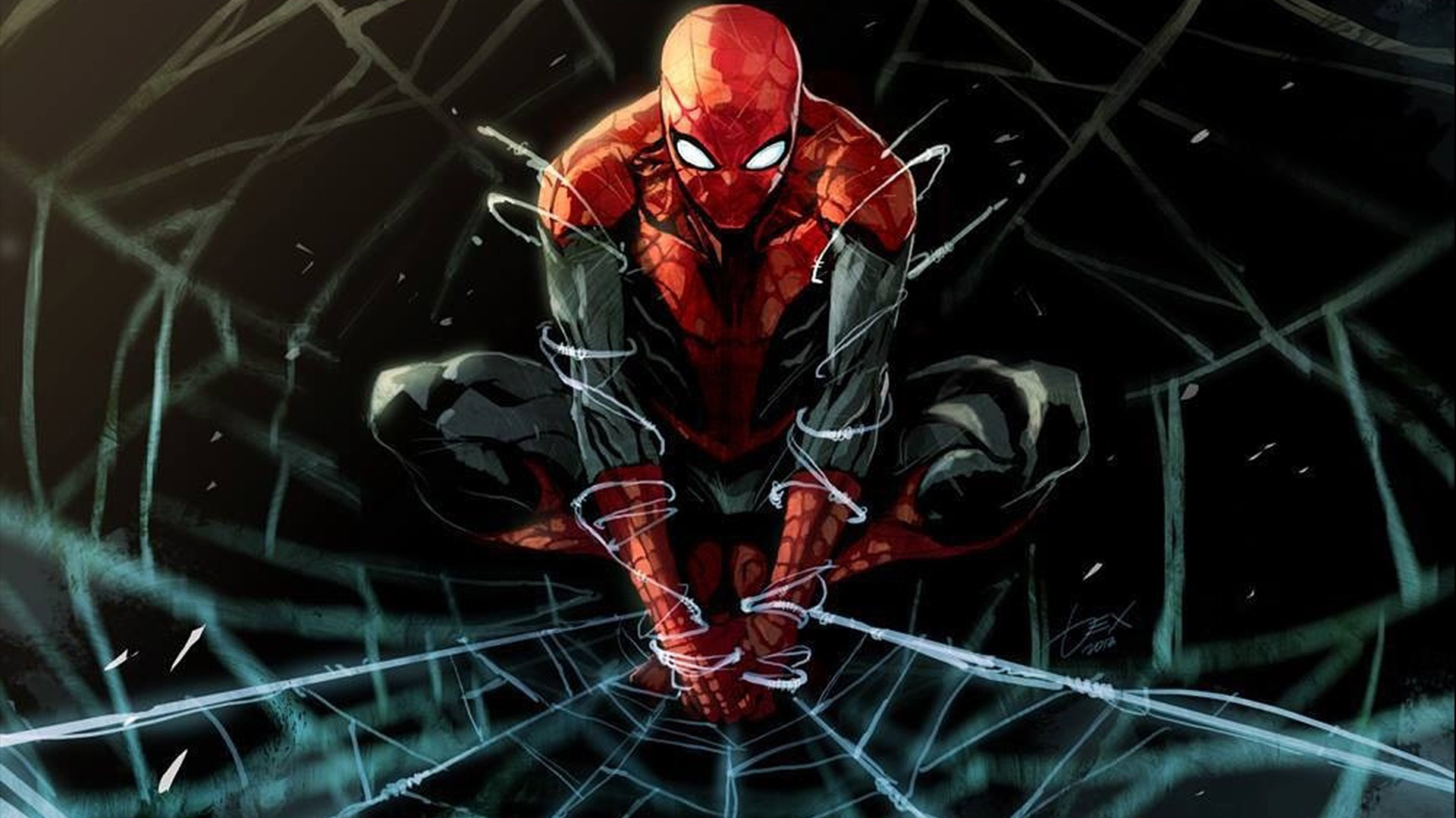 Spider man wallpaper download free stunning full hd - Iron man spiderman wallpaper ...