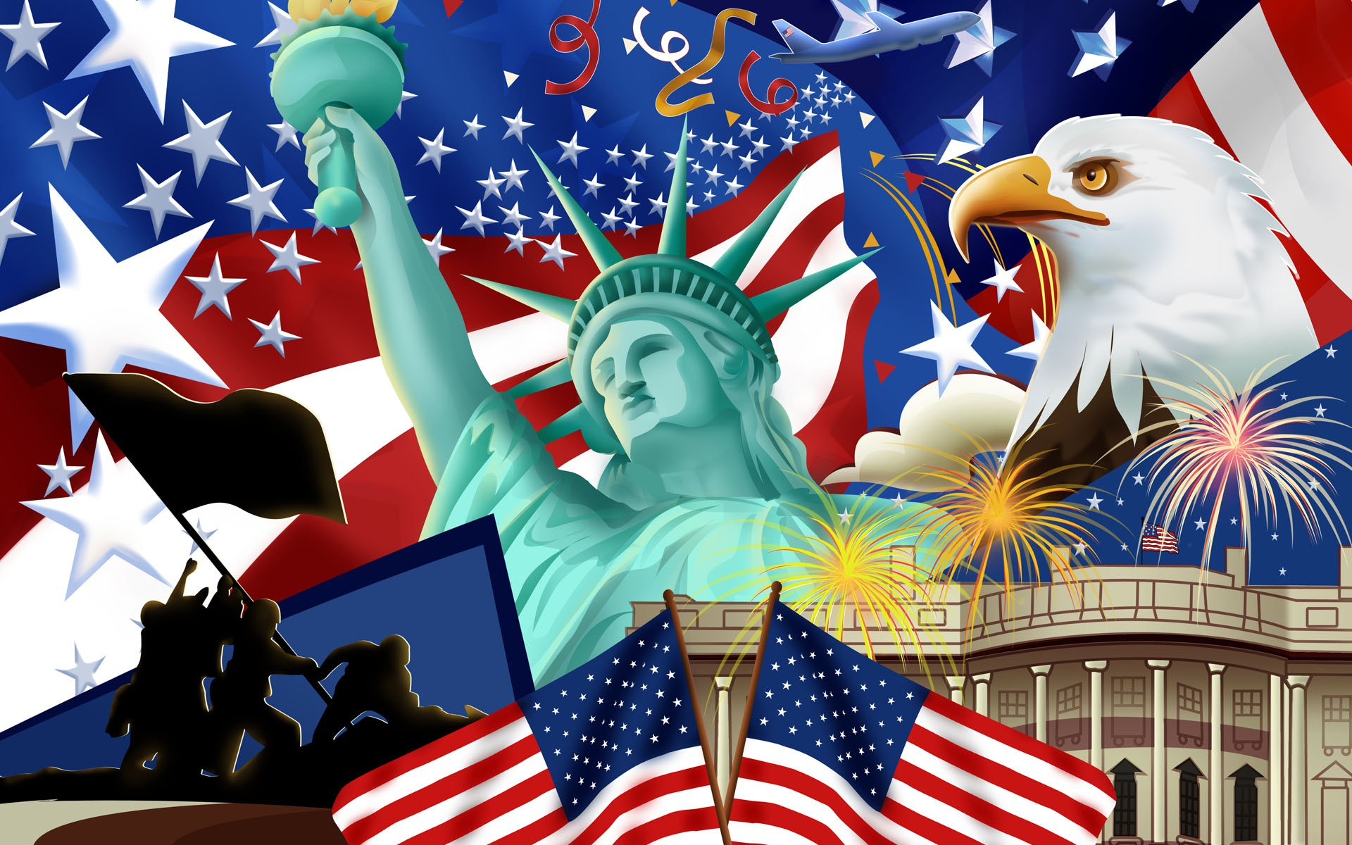 Usa Flag Wallpaper Download Free High Resolution Wallpapers
