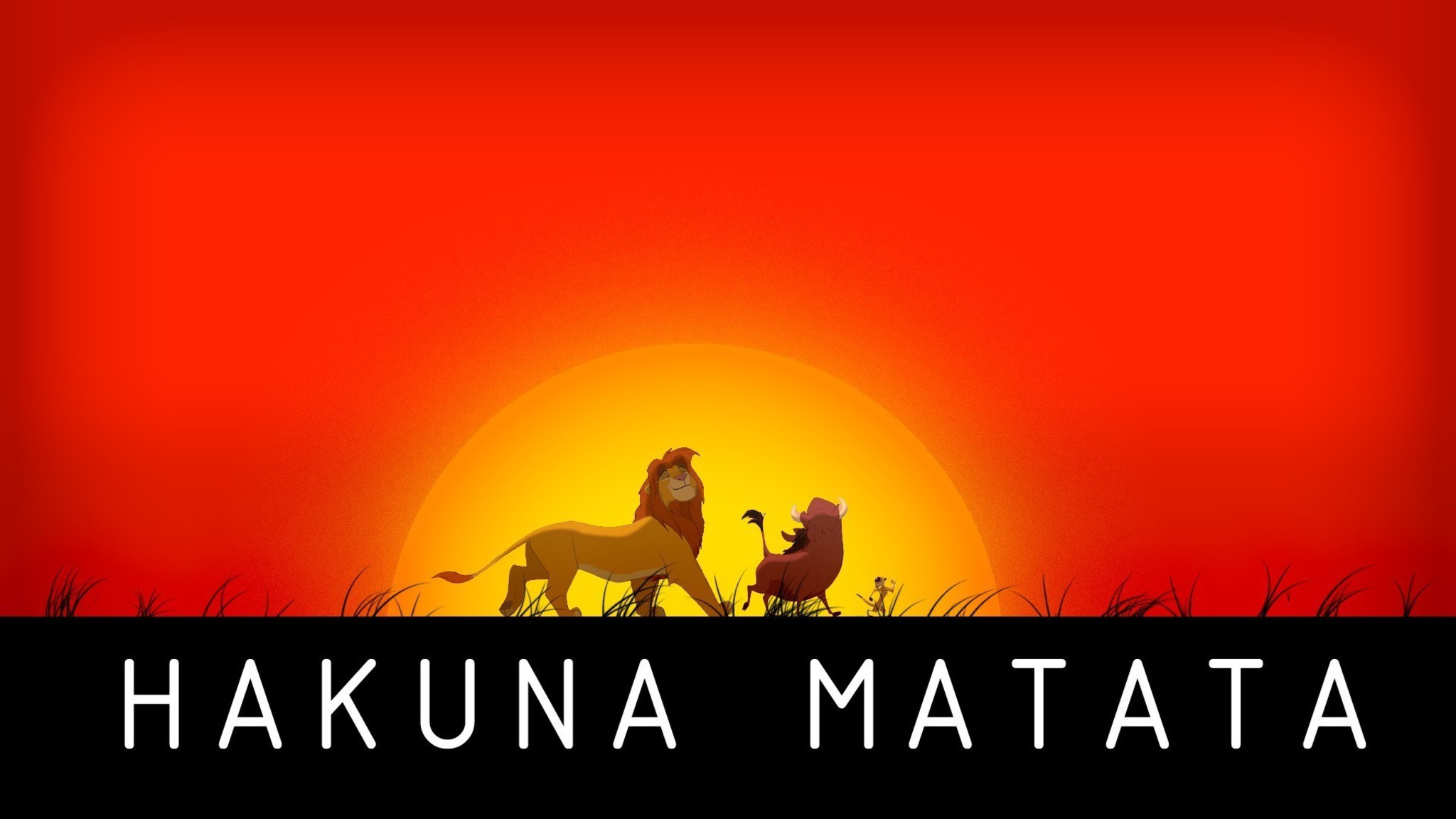 Hakuna Matata Wallpaper 183 ①