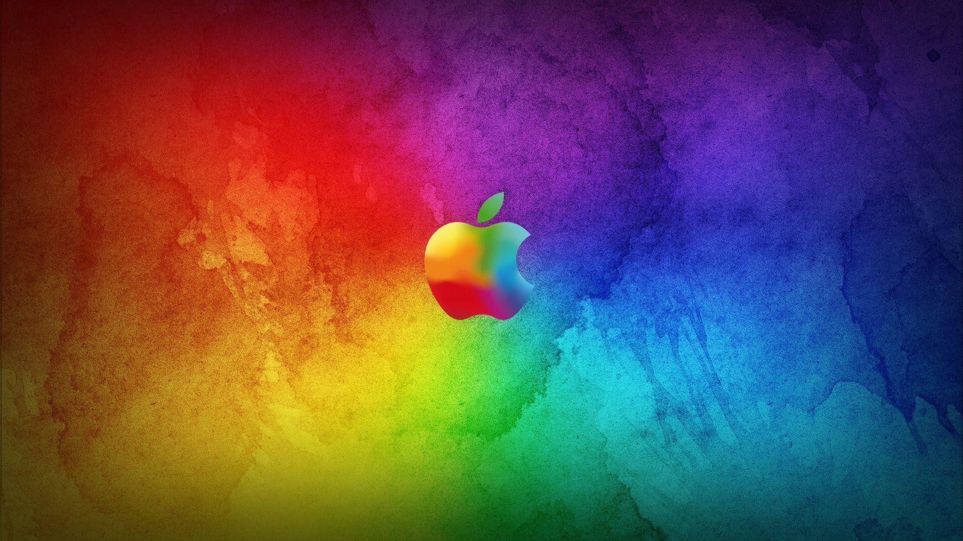 cool apple logos hd. 1920x1080 amazing colorful apple logo wallpaper full hd wallpapers cool logos
