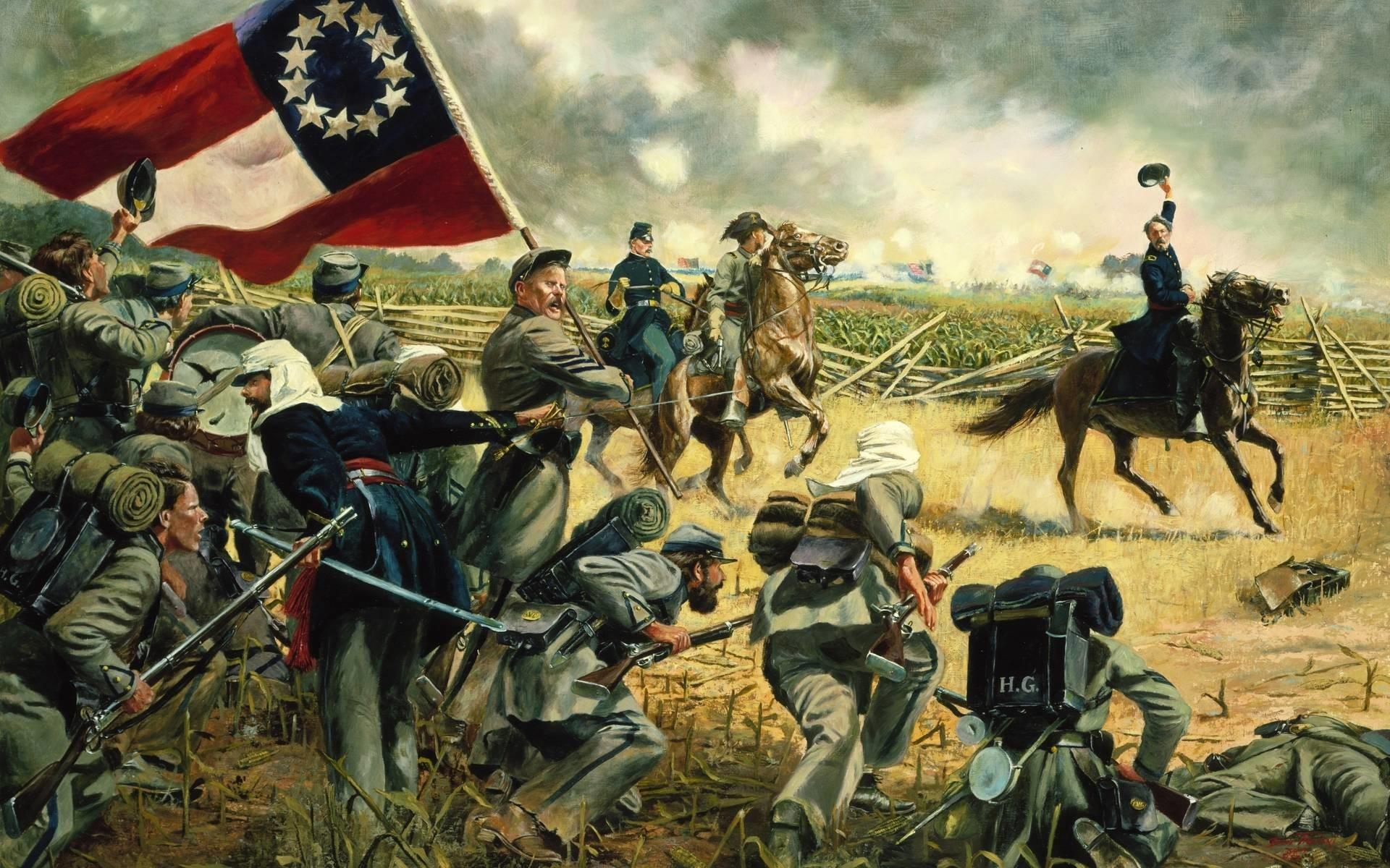American Civil War Wallpaper ·① WallpaperTag
