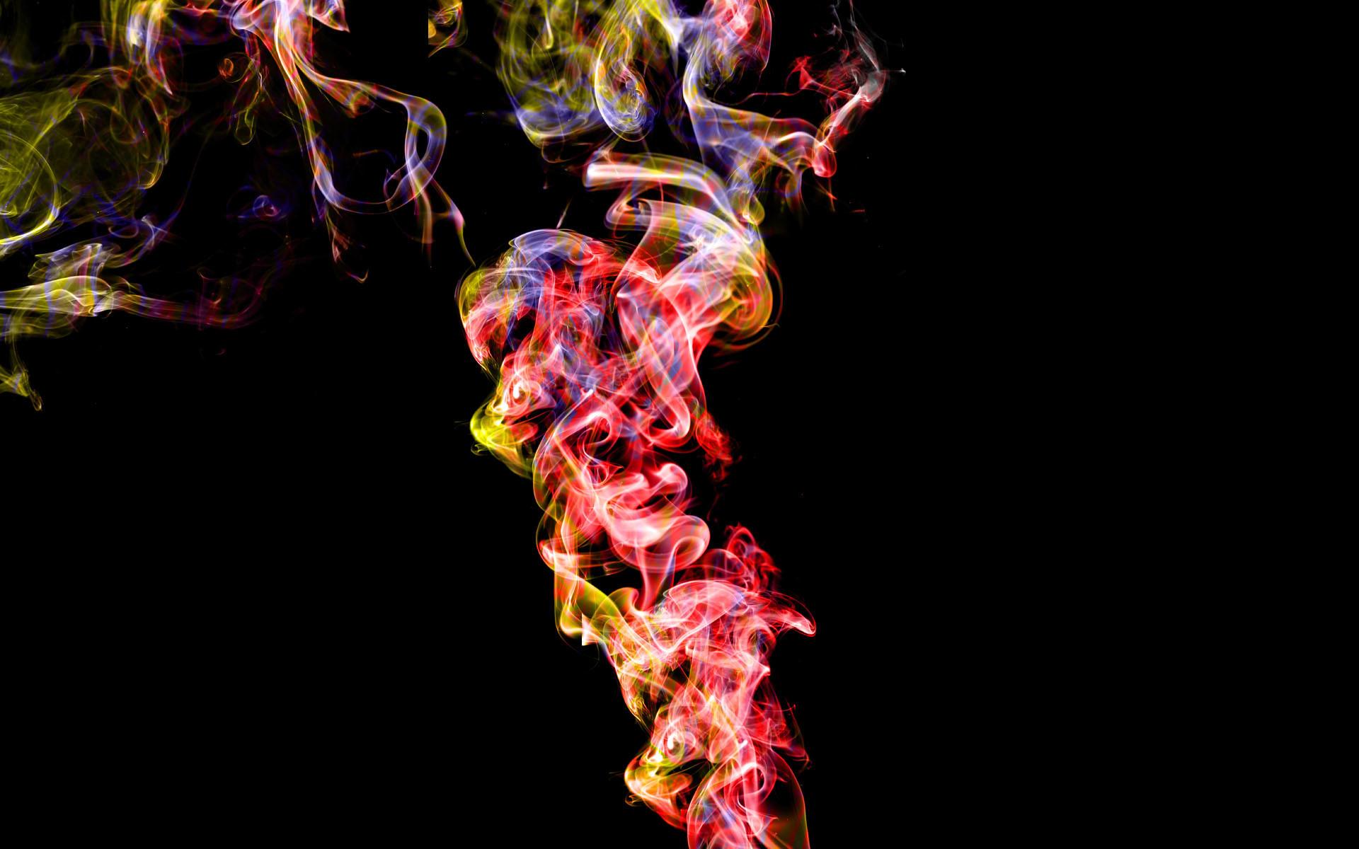 Colorful Smoke Wallpaper Iphone