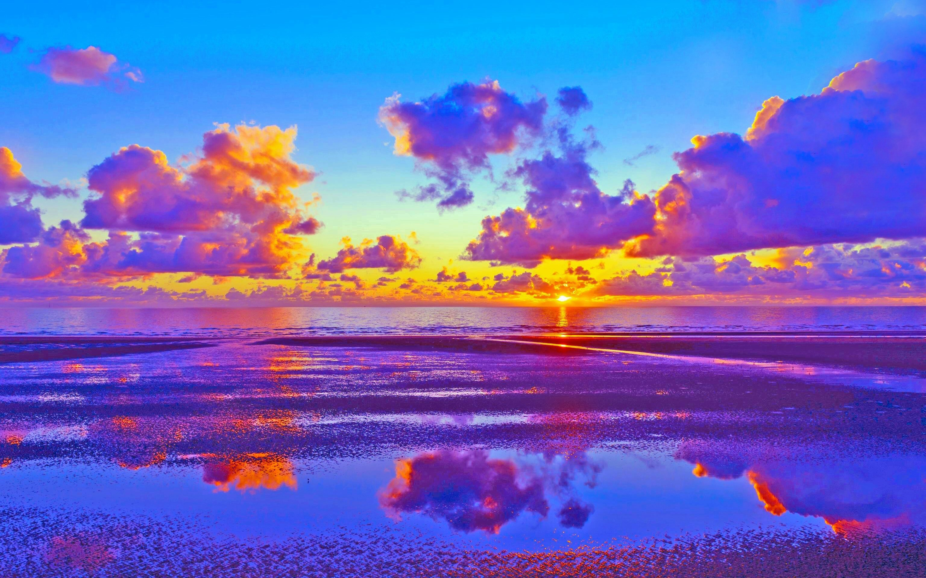 Colourful Fantasy Cloud Backgrounds: Colorful Sunsets Wallpapers ·① WallpaperTag