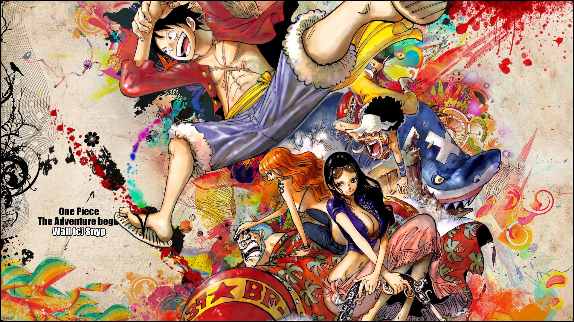 One Piece Wallpaper 1080p Wallpapertag